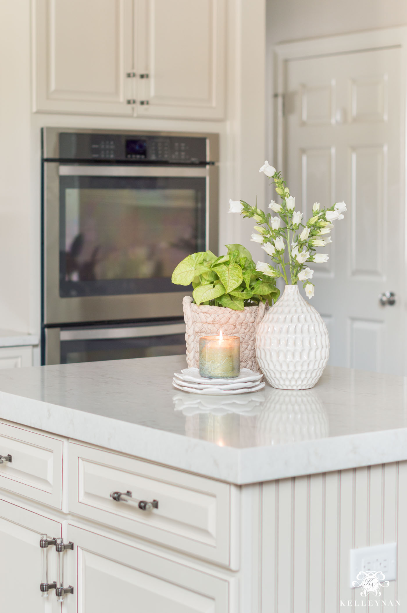 Kitchen Island Decor: 11 Easy Styling Tips  Kelley Nan