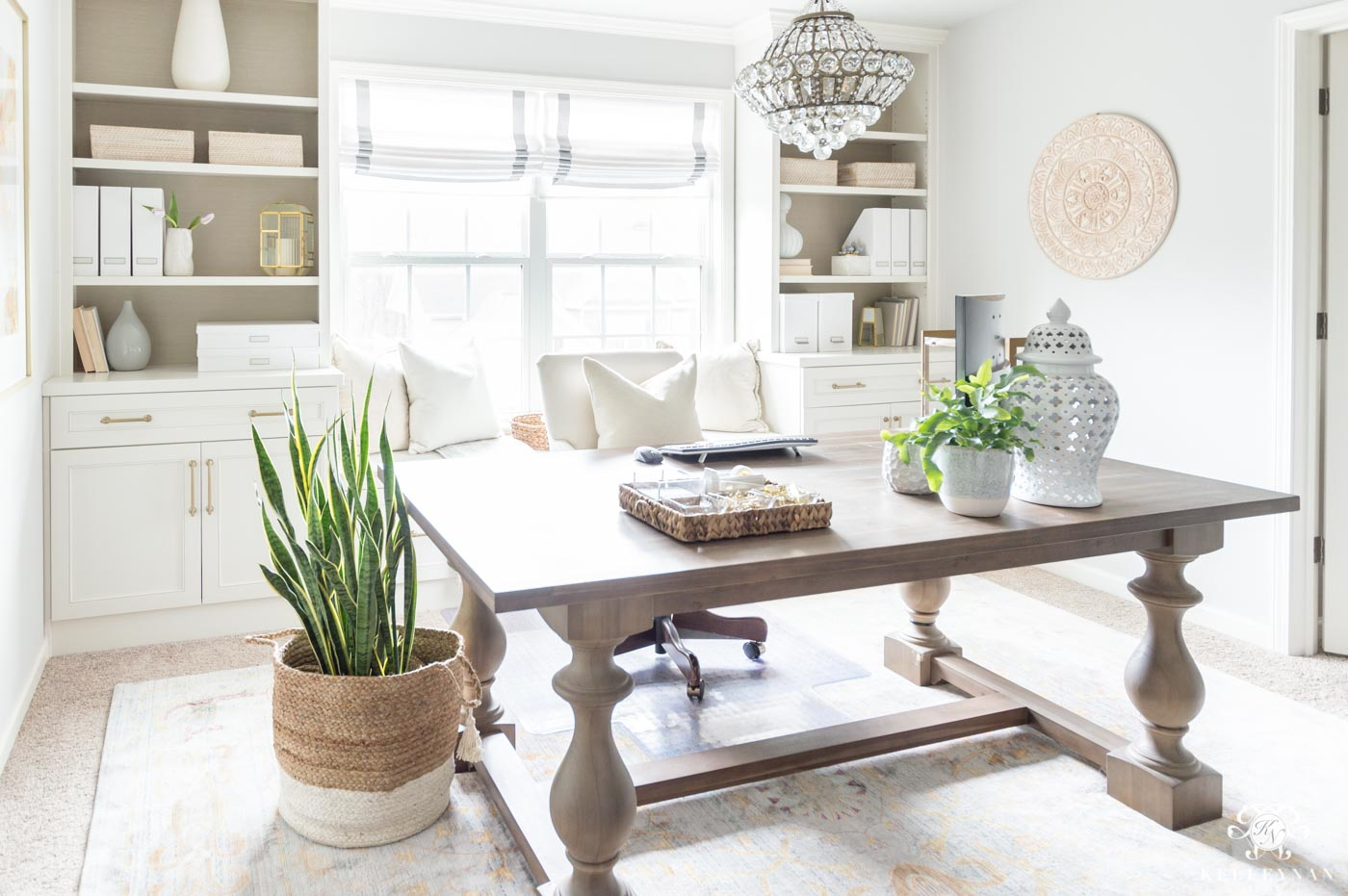 Home office decor ideas for spring and summer