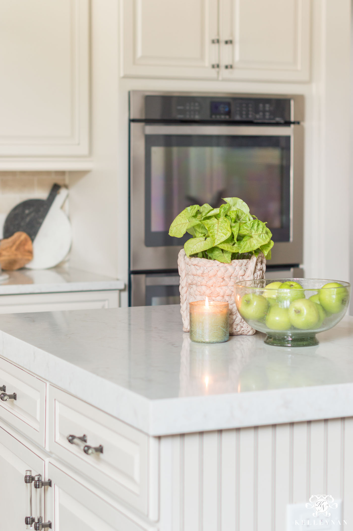 Kitchen Island Decor: 6 Easy Styling Tips | Kelley Nan