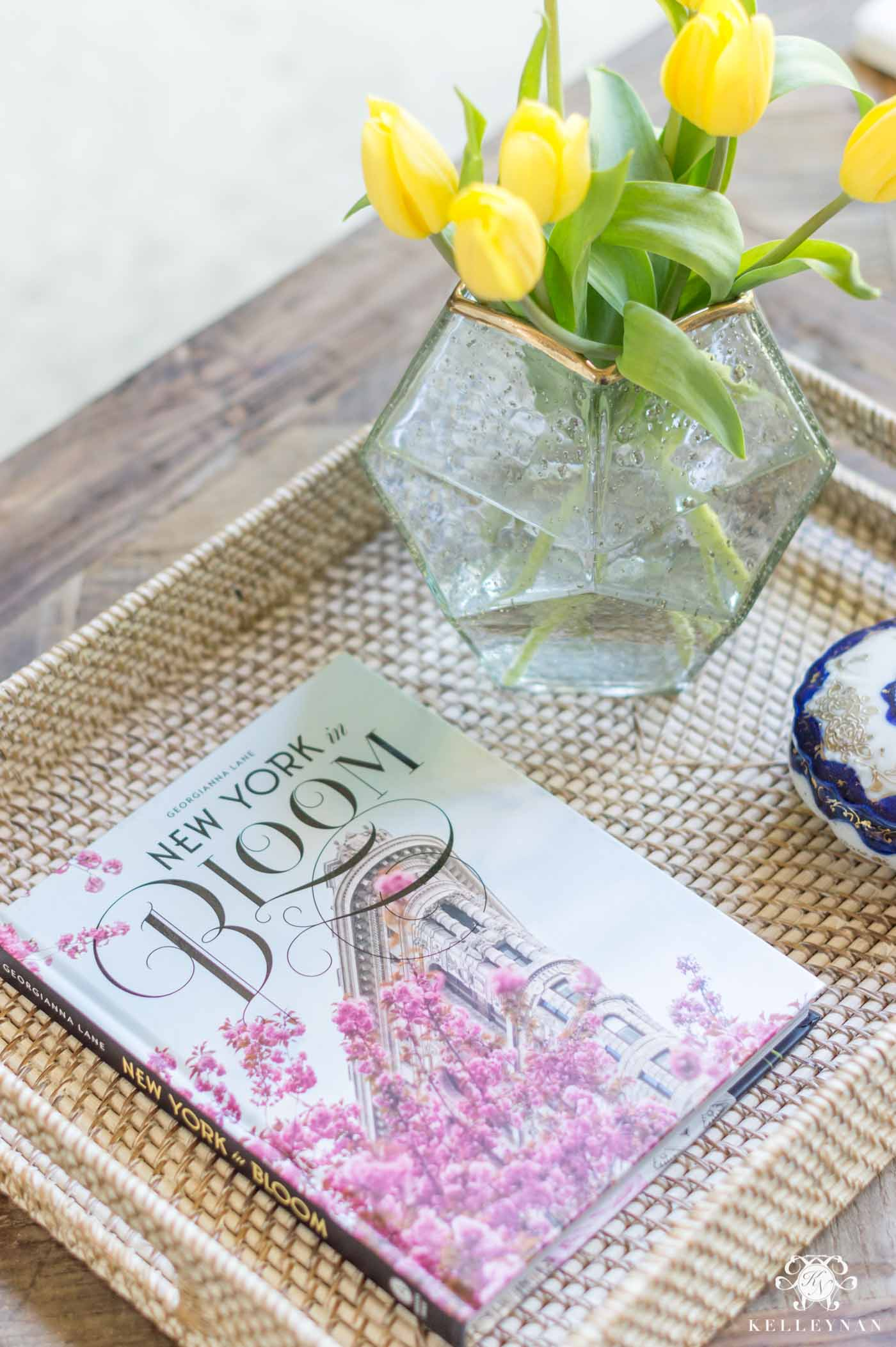 new york in bloom coffee table book