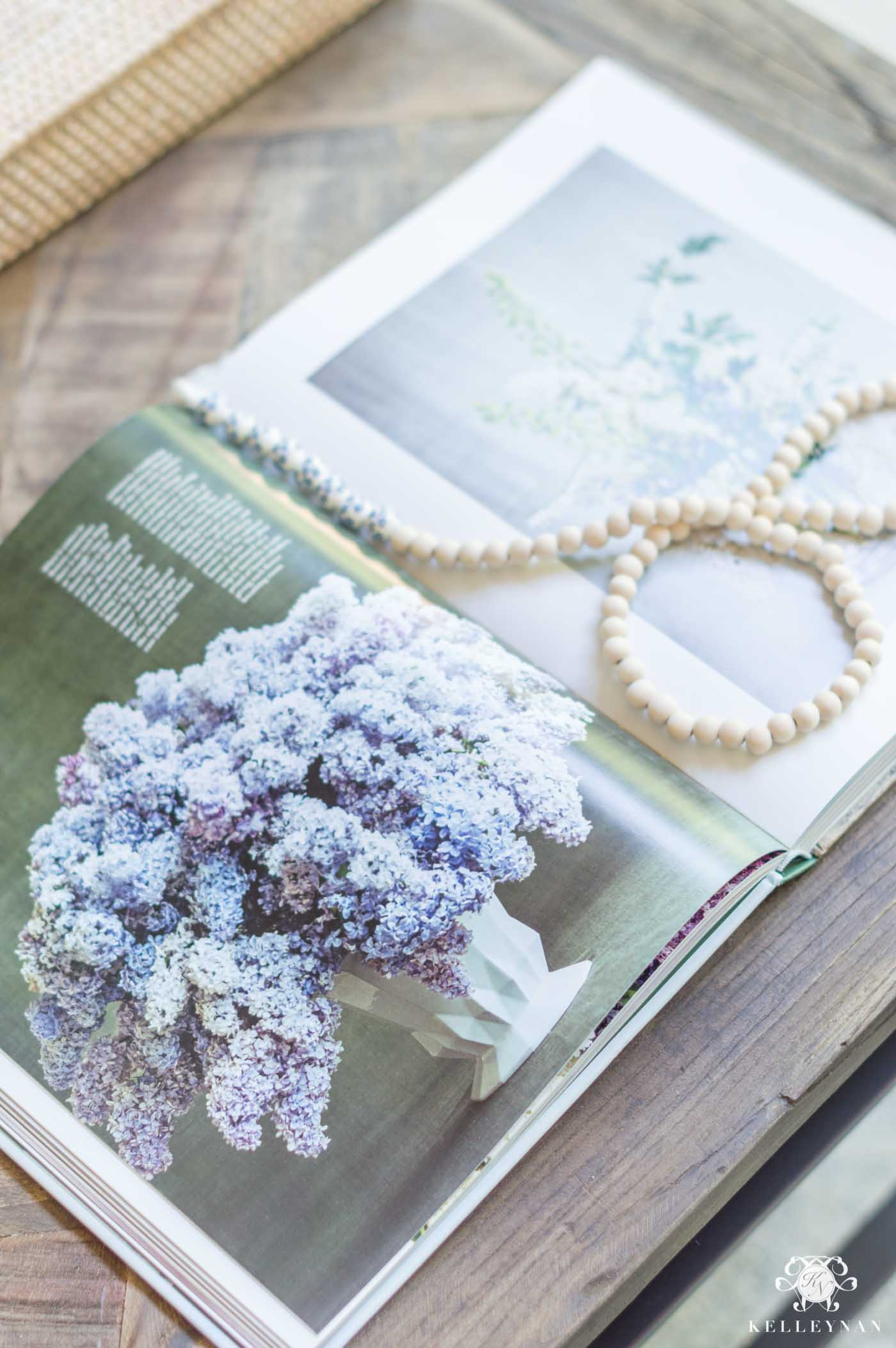 martha's flowers coffee table book