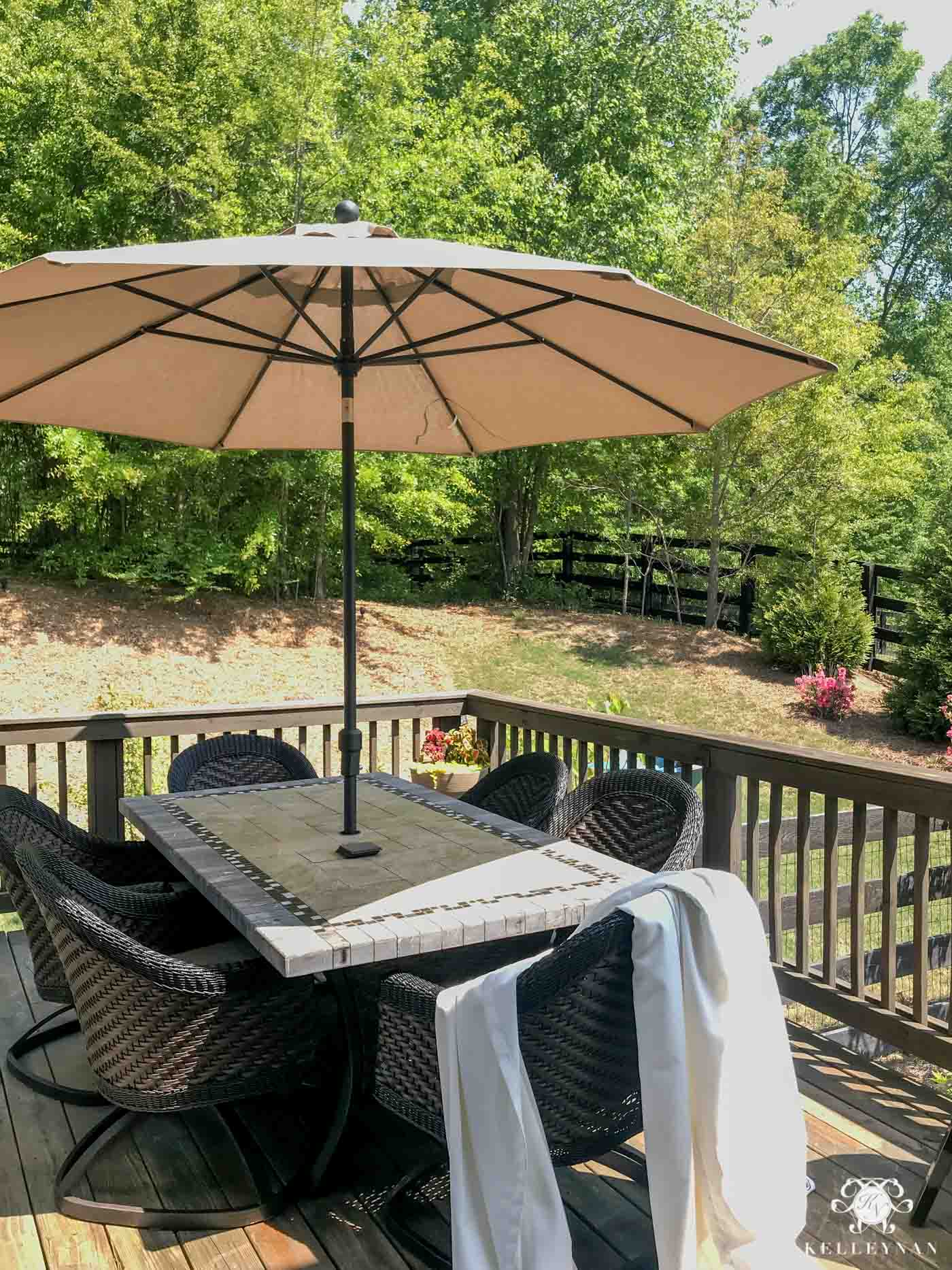 costco large tilt sunbrella outdoor umbrella