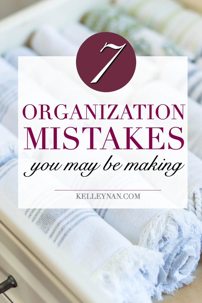 how to correct the common organization mistakes you may be making
