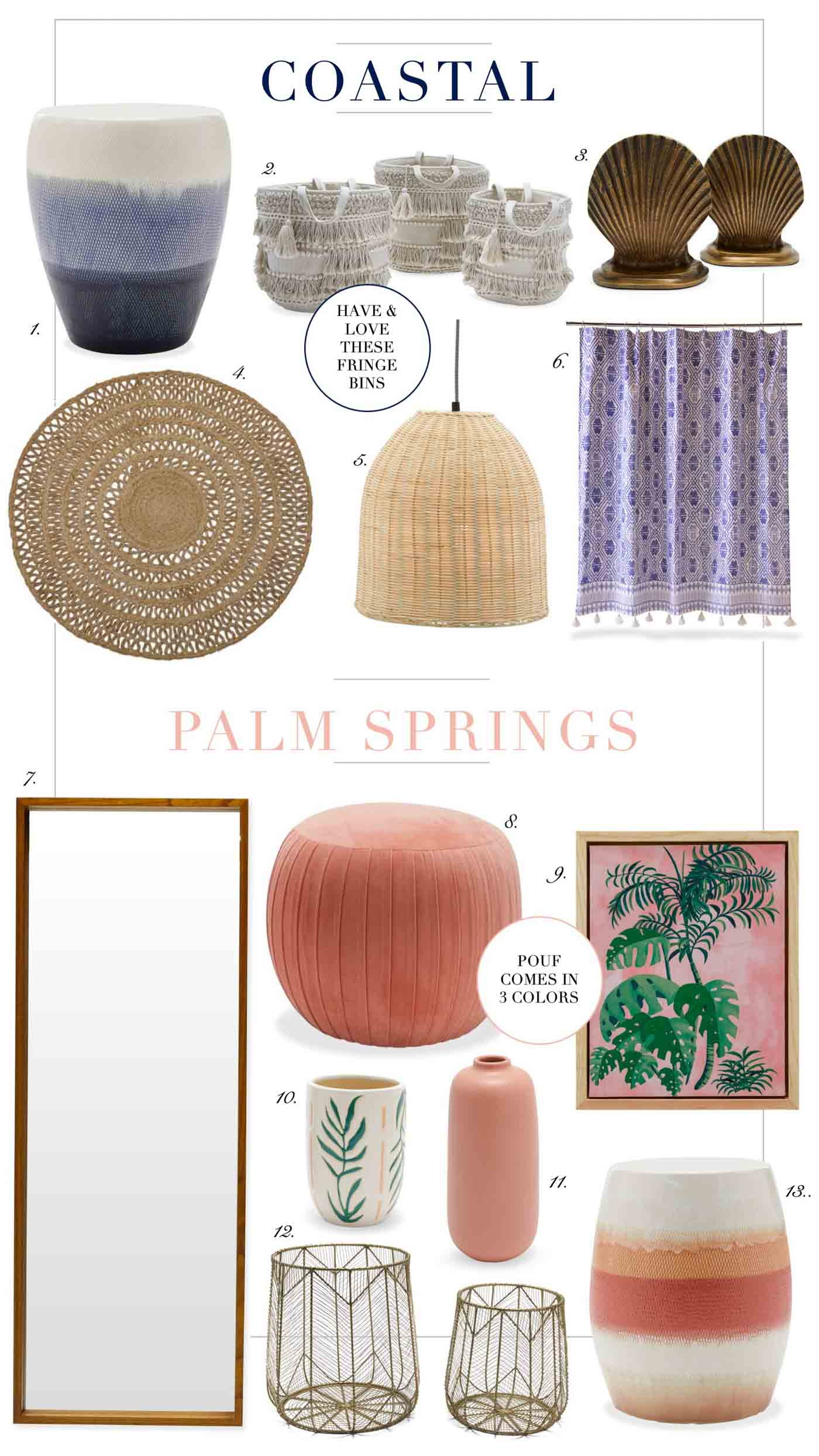 Drew Barrymore FLower Collection Summer Decor Themes