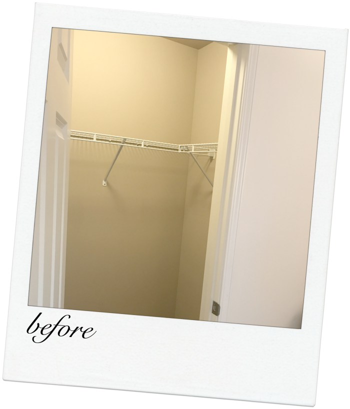 nursery closet with elfa system- a must-see makeover