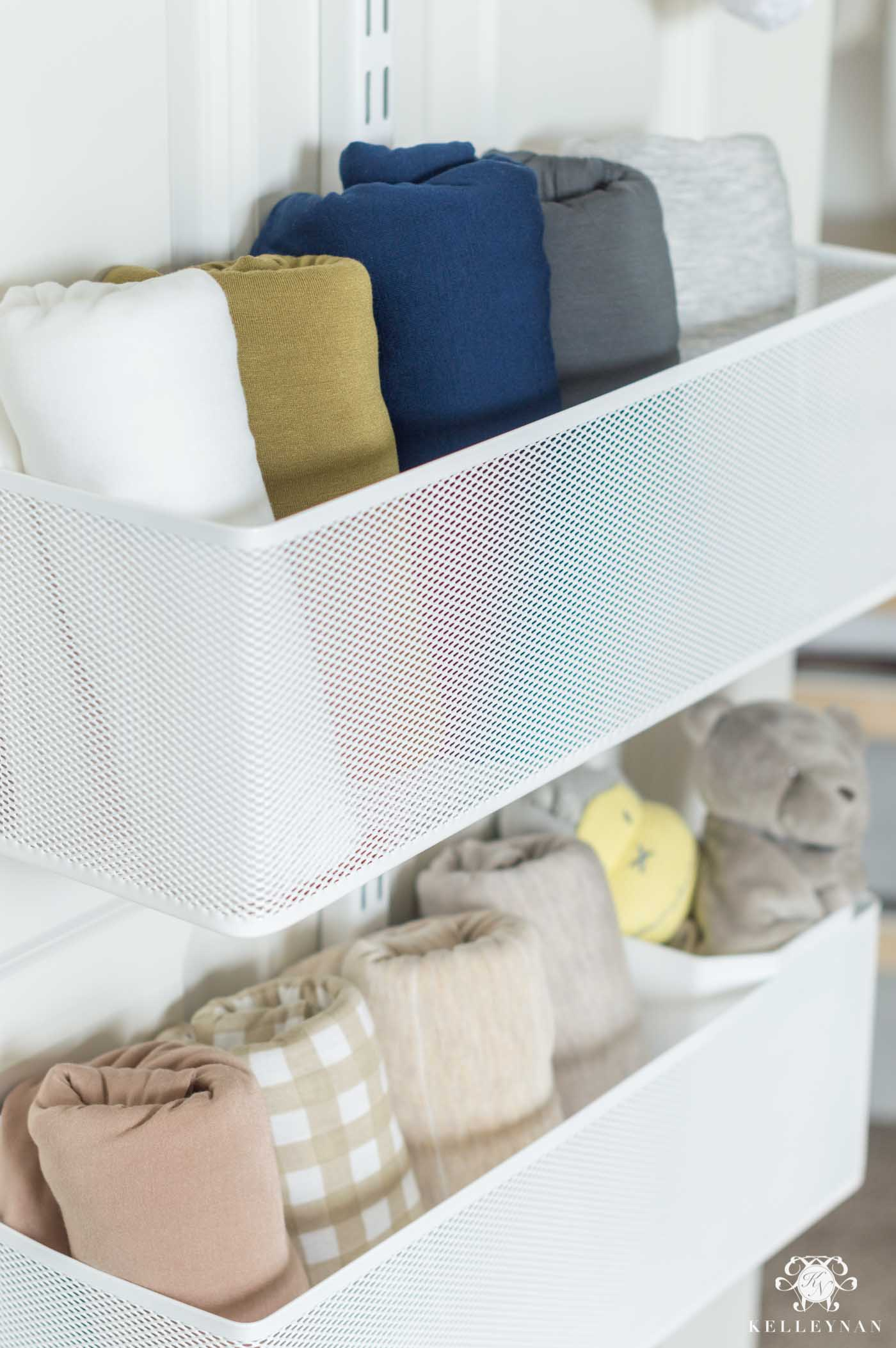 Kid closet storage and organization ideas