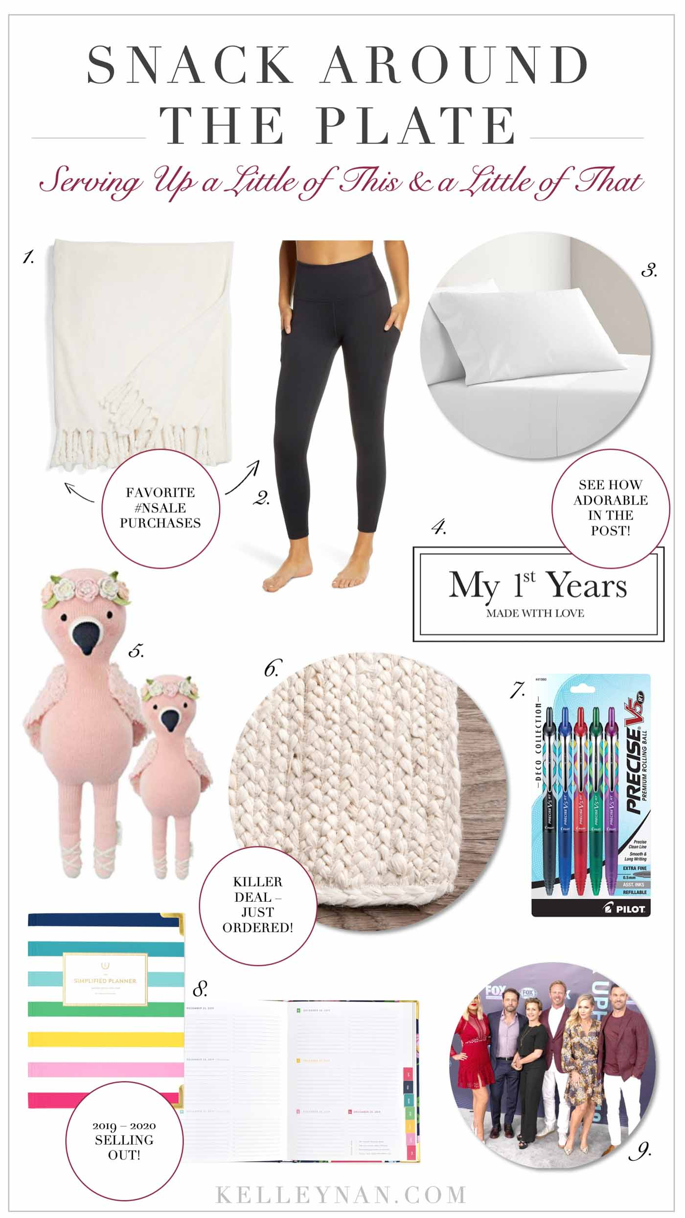 recent favorites from home to baby to fashion