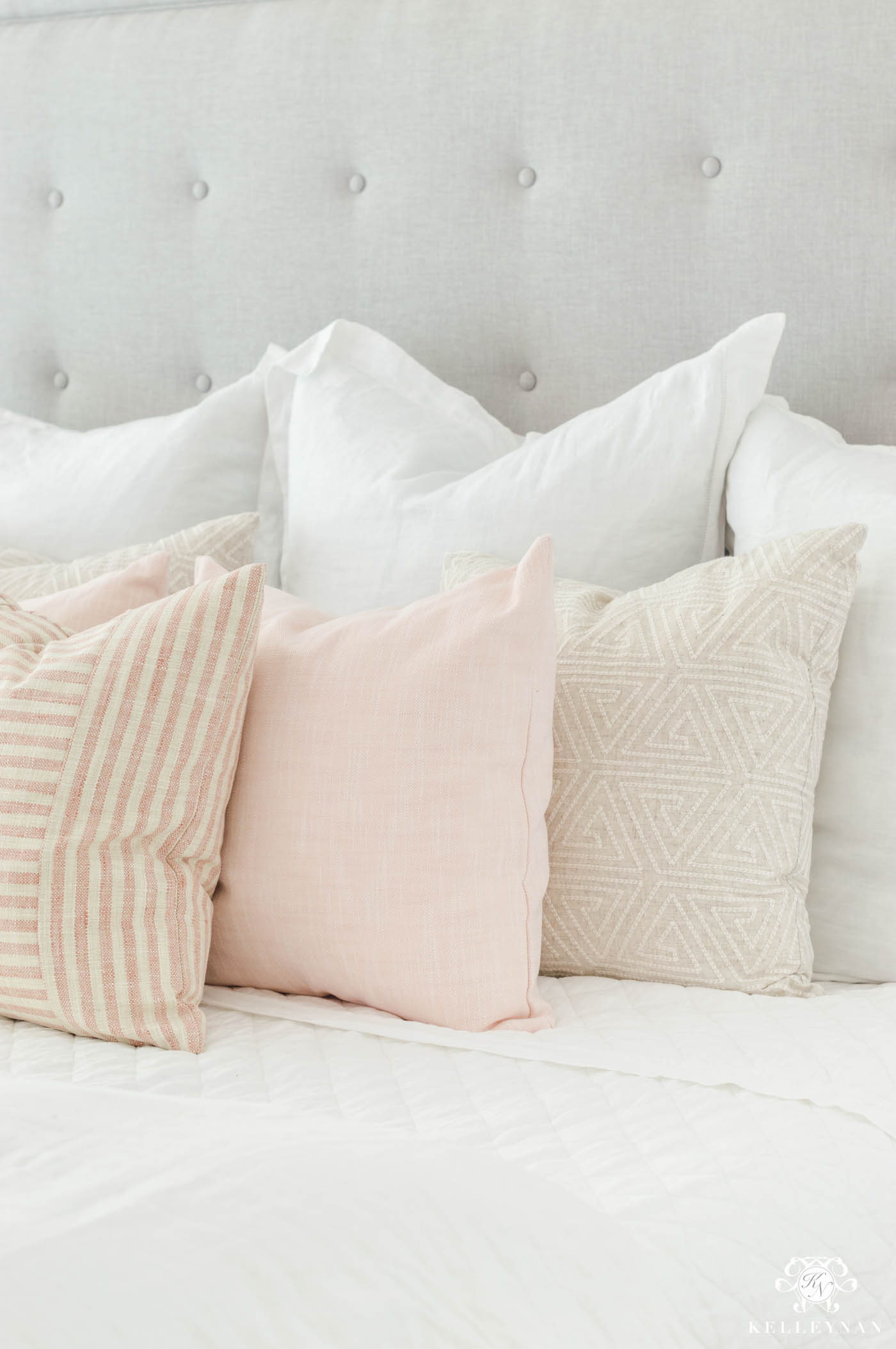 How to decorate a pink bedroom that isn't too girly