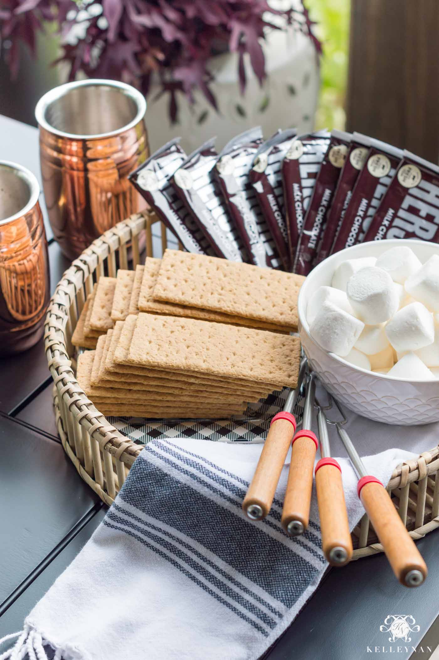 Fall Bucket List- Back Porch S'mores