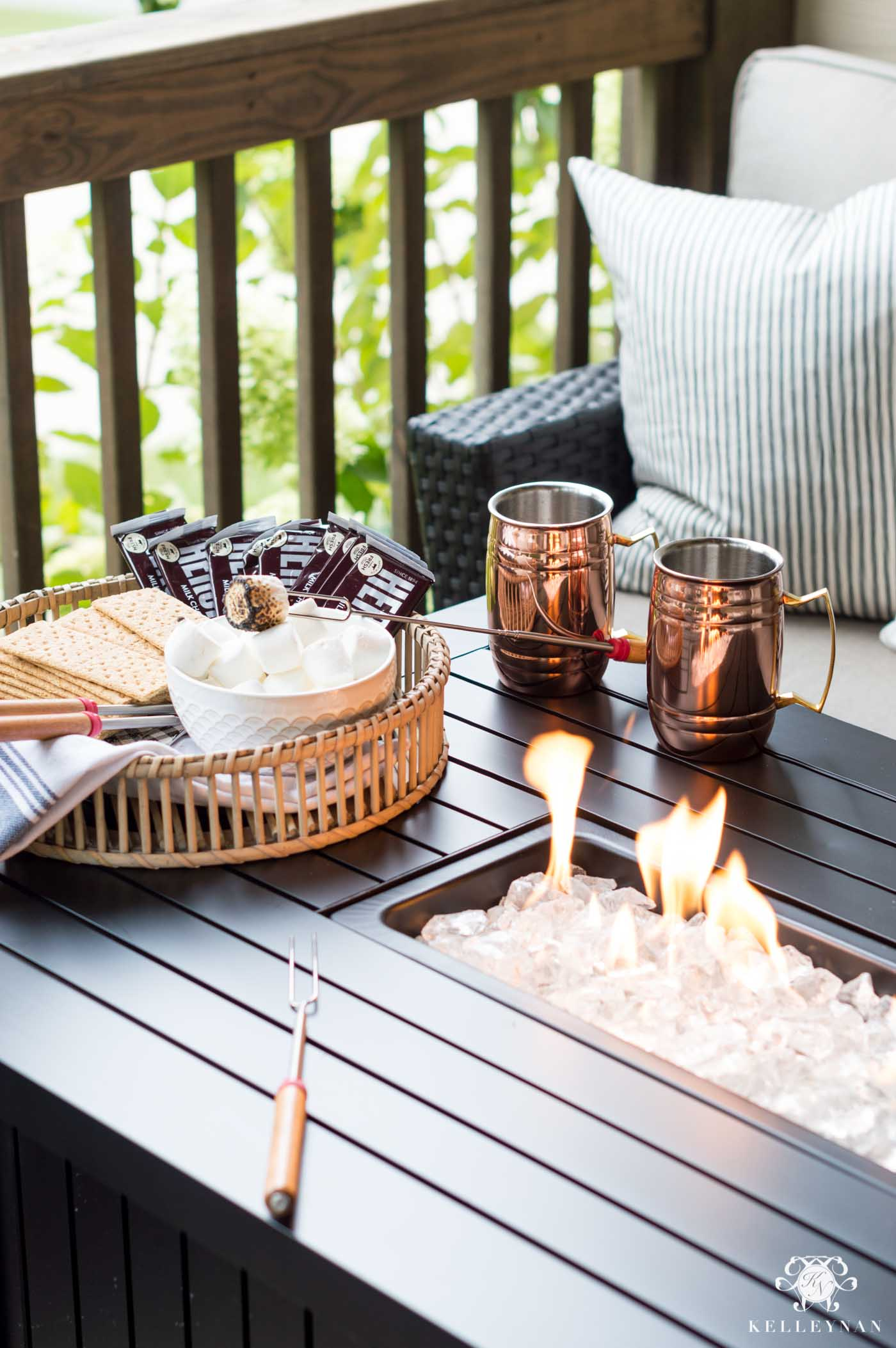 Fall necessities and back porch ideas