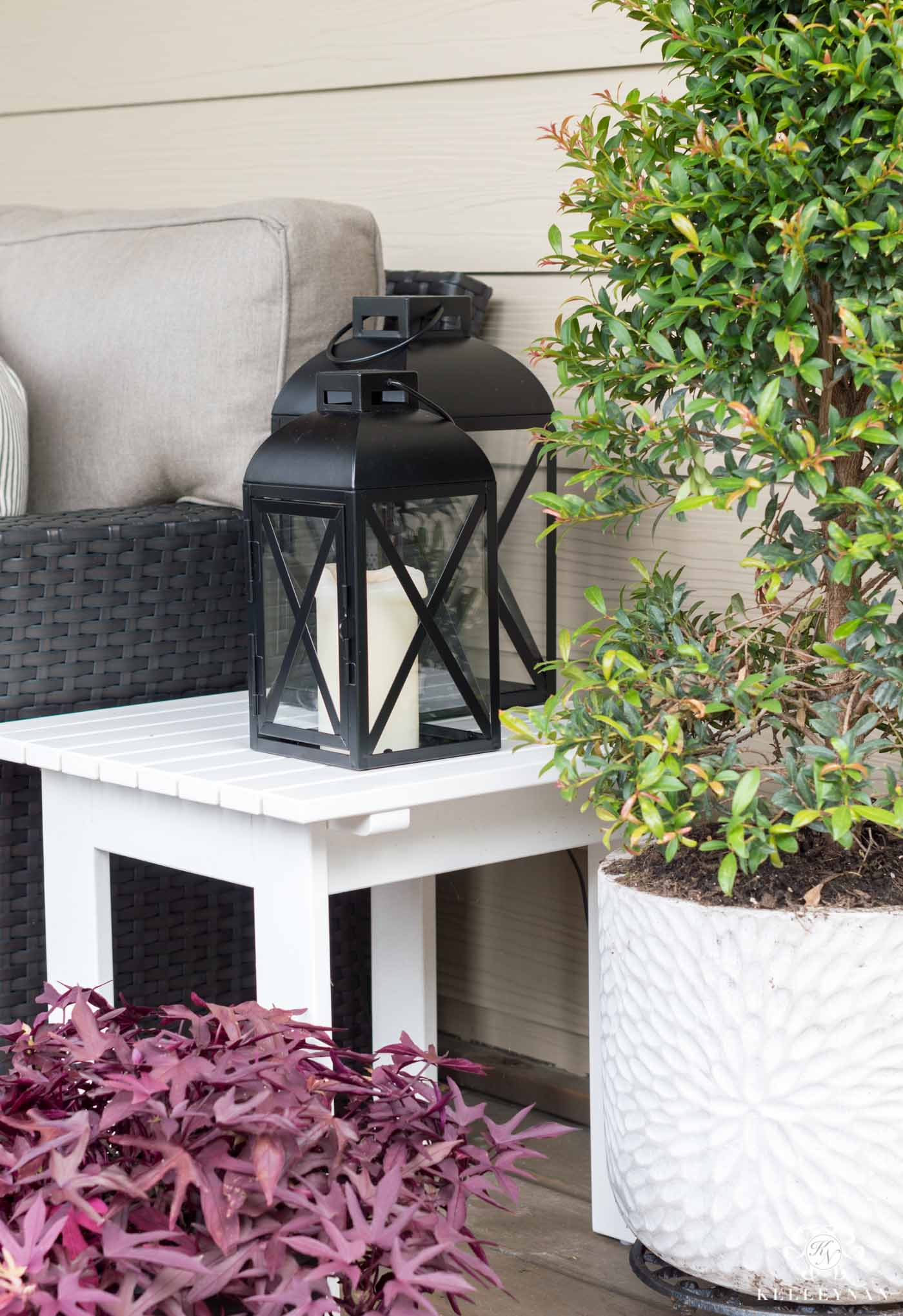 Outdoor lantern hacks and ideas