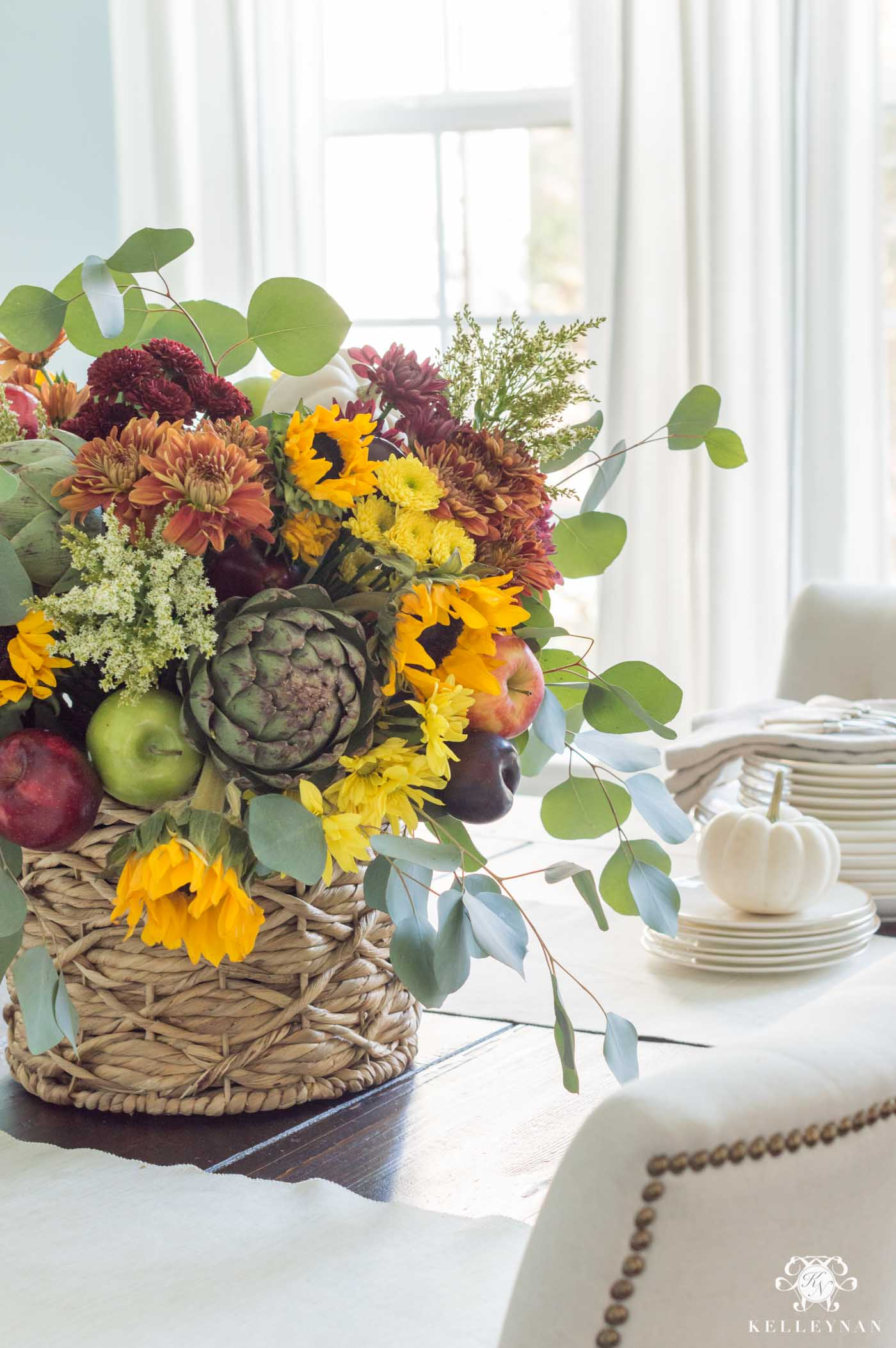 Fall Harvest Flower Arrangement Inspo