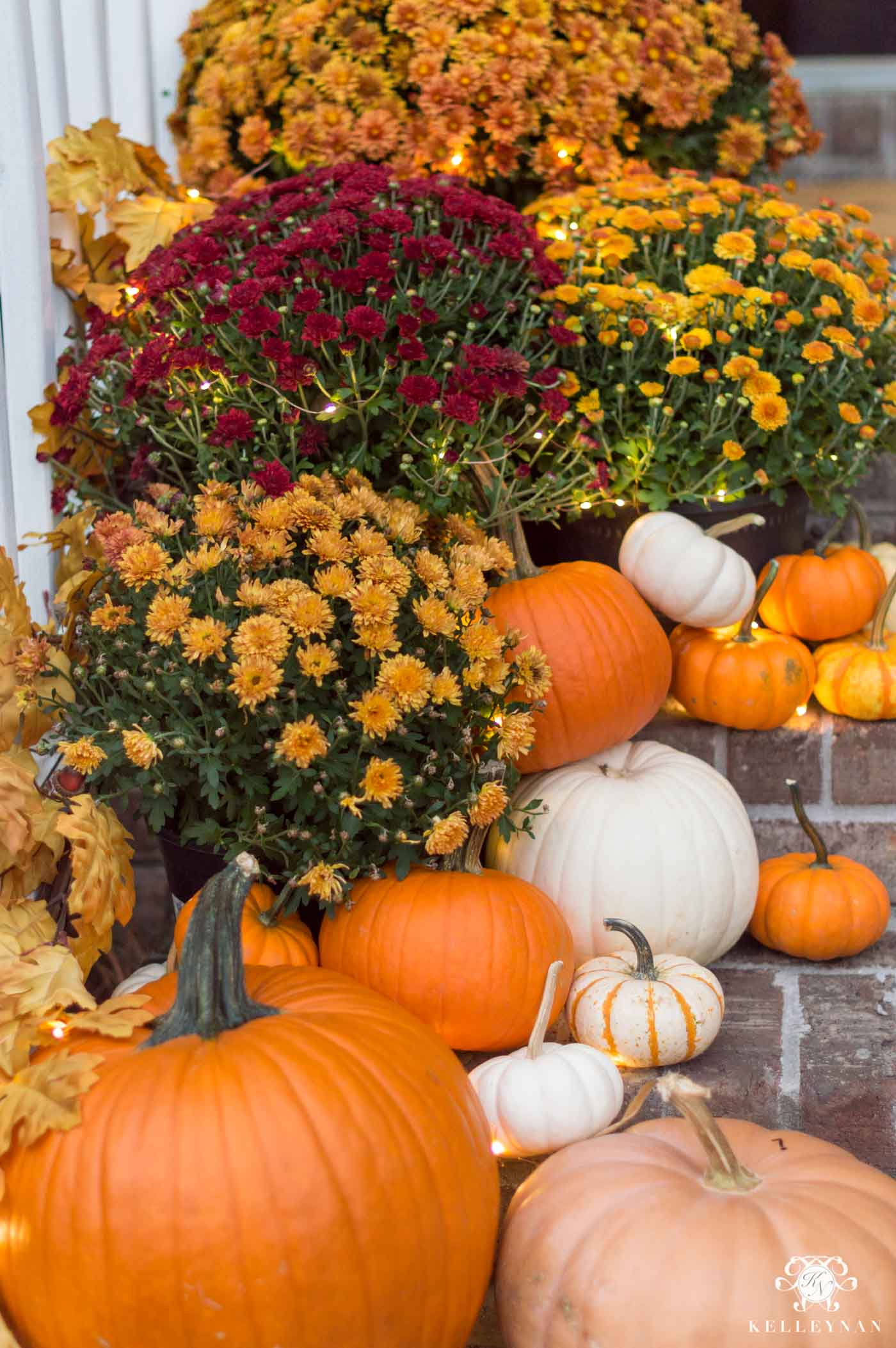 Fall outdoor decor ideas and inspo