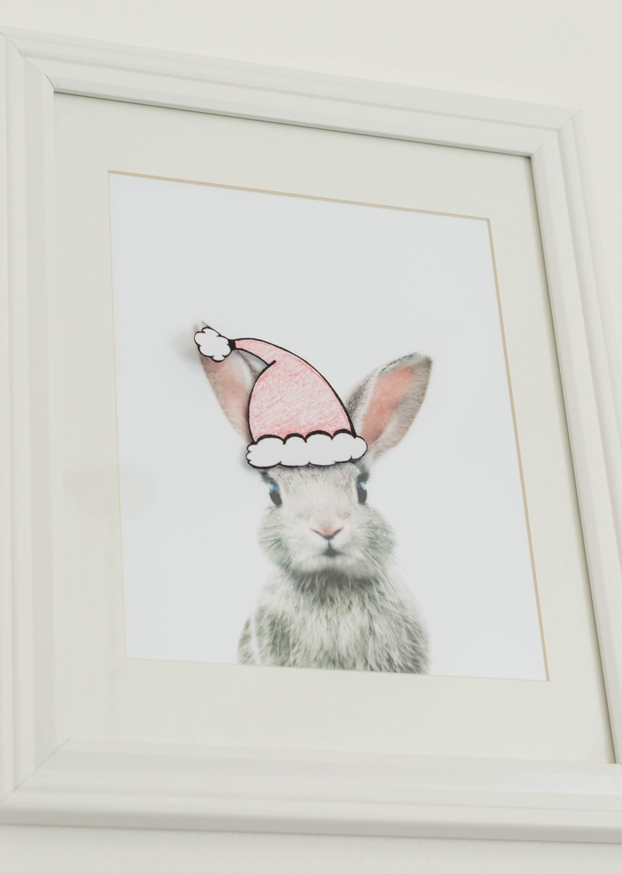 Nursery Decorating Ideas and Easy Christmas Wall Art