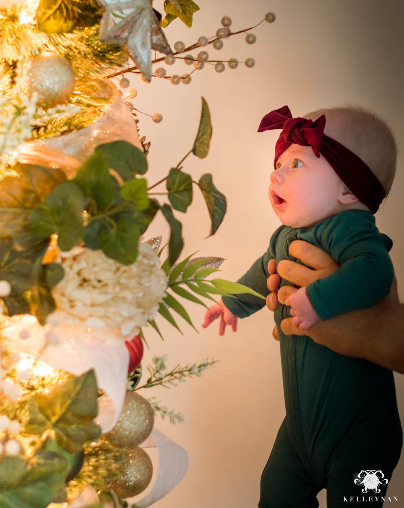 Little Girl's Room Christmas Tree