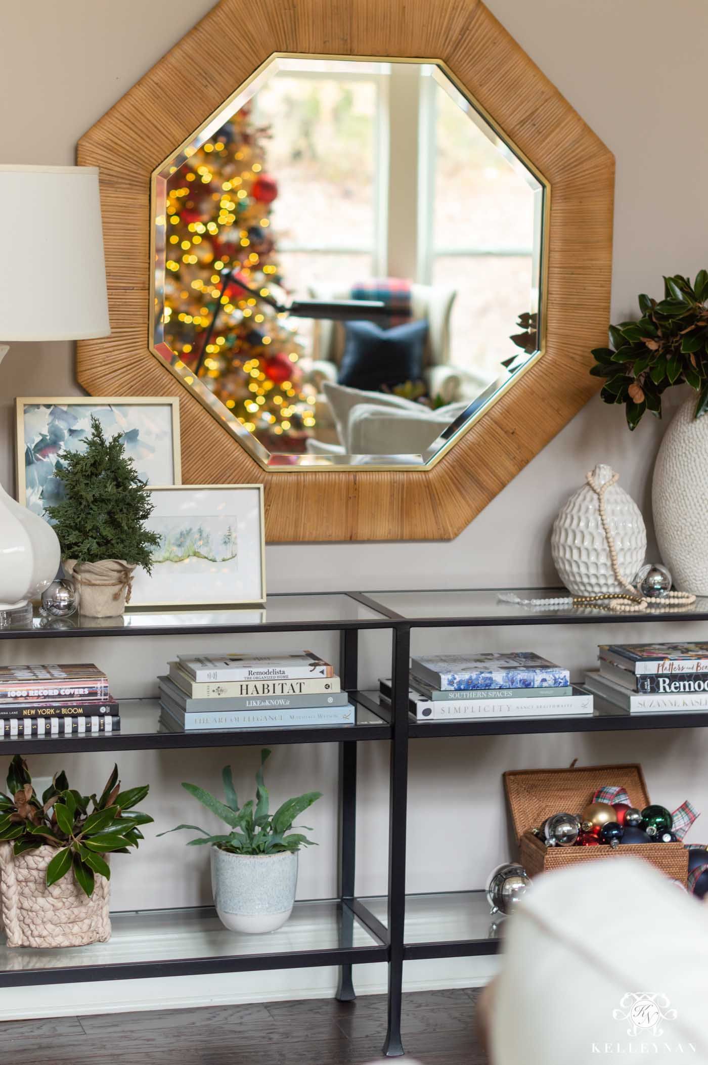 Christmas Console Table Decor (and other ideas!)