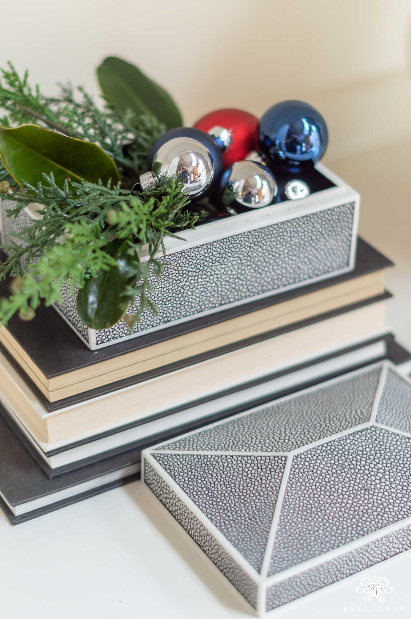 Shelf Christmas Decorations (Lots of Holiday Ideas!)