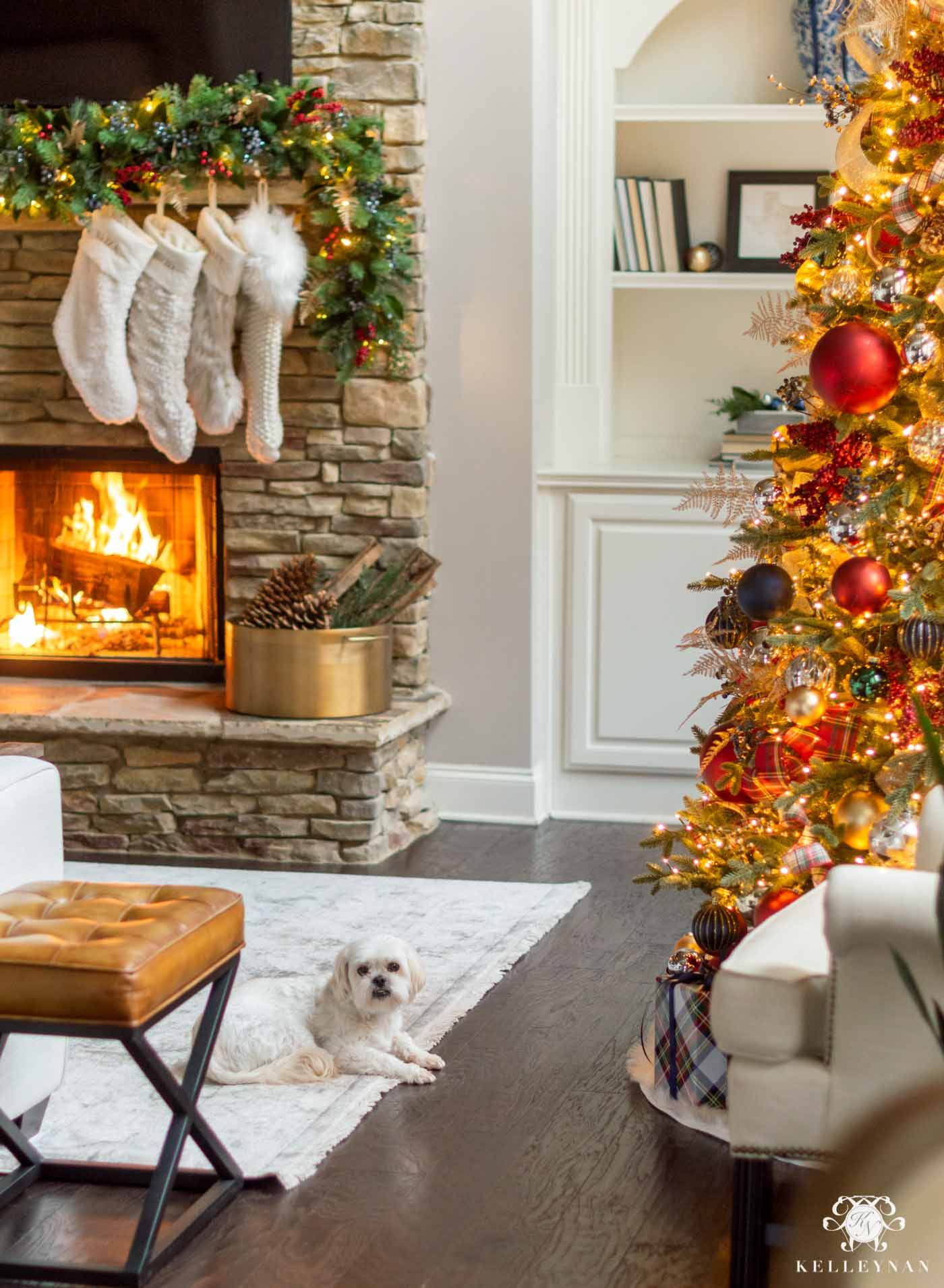 Cozy Plaid Christmas Home Tour