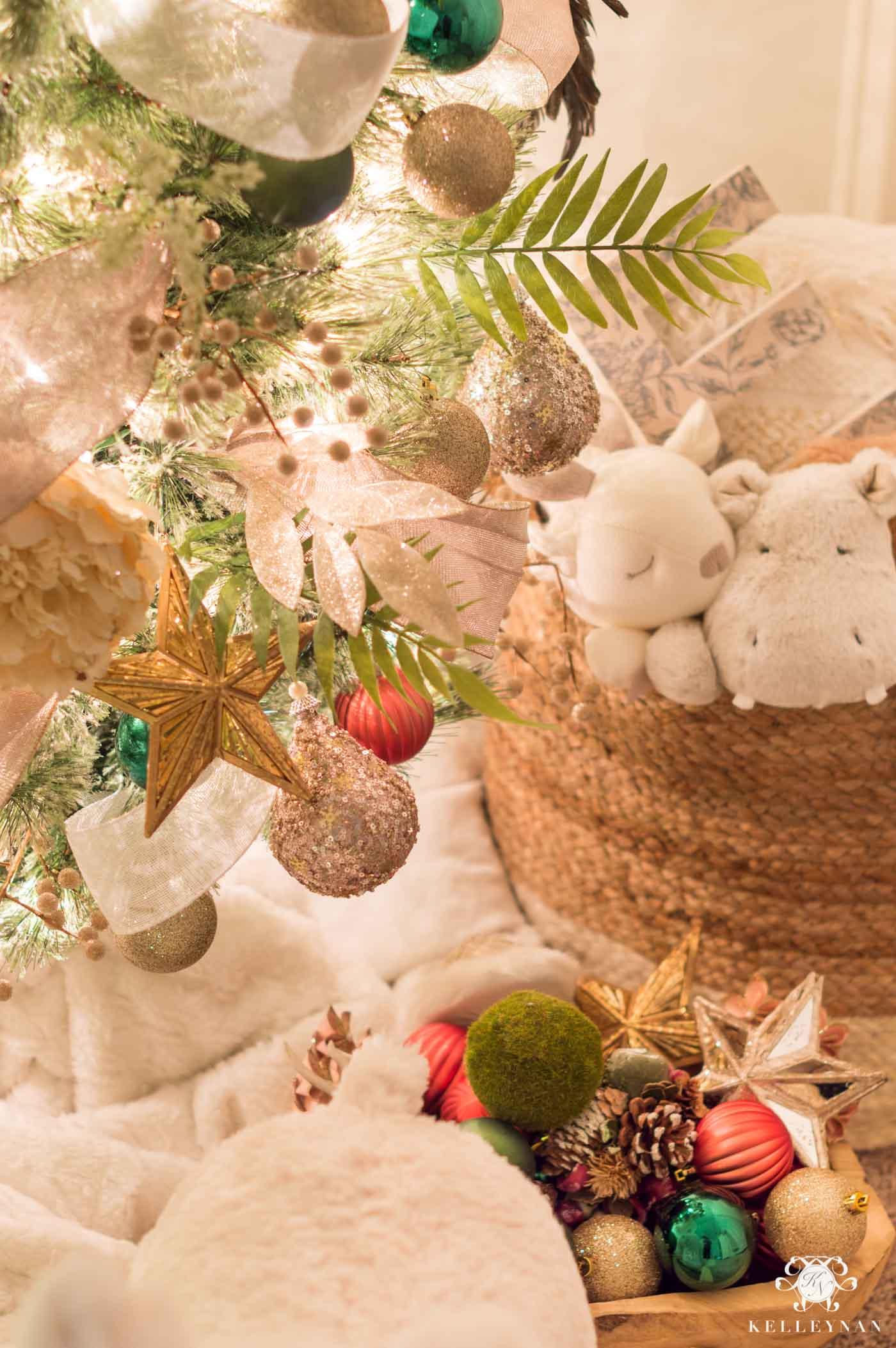 Baby nursery Christmas Decor and Theme Idea