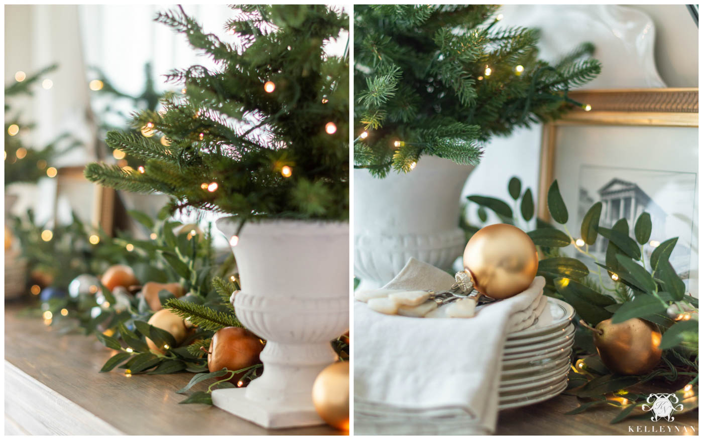 Breakfast Nook Christmas Decor