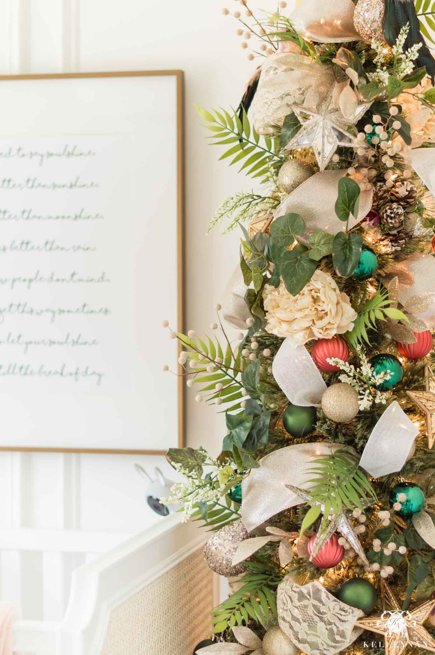 Fairy themed Christmas Tree