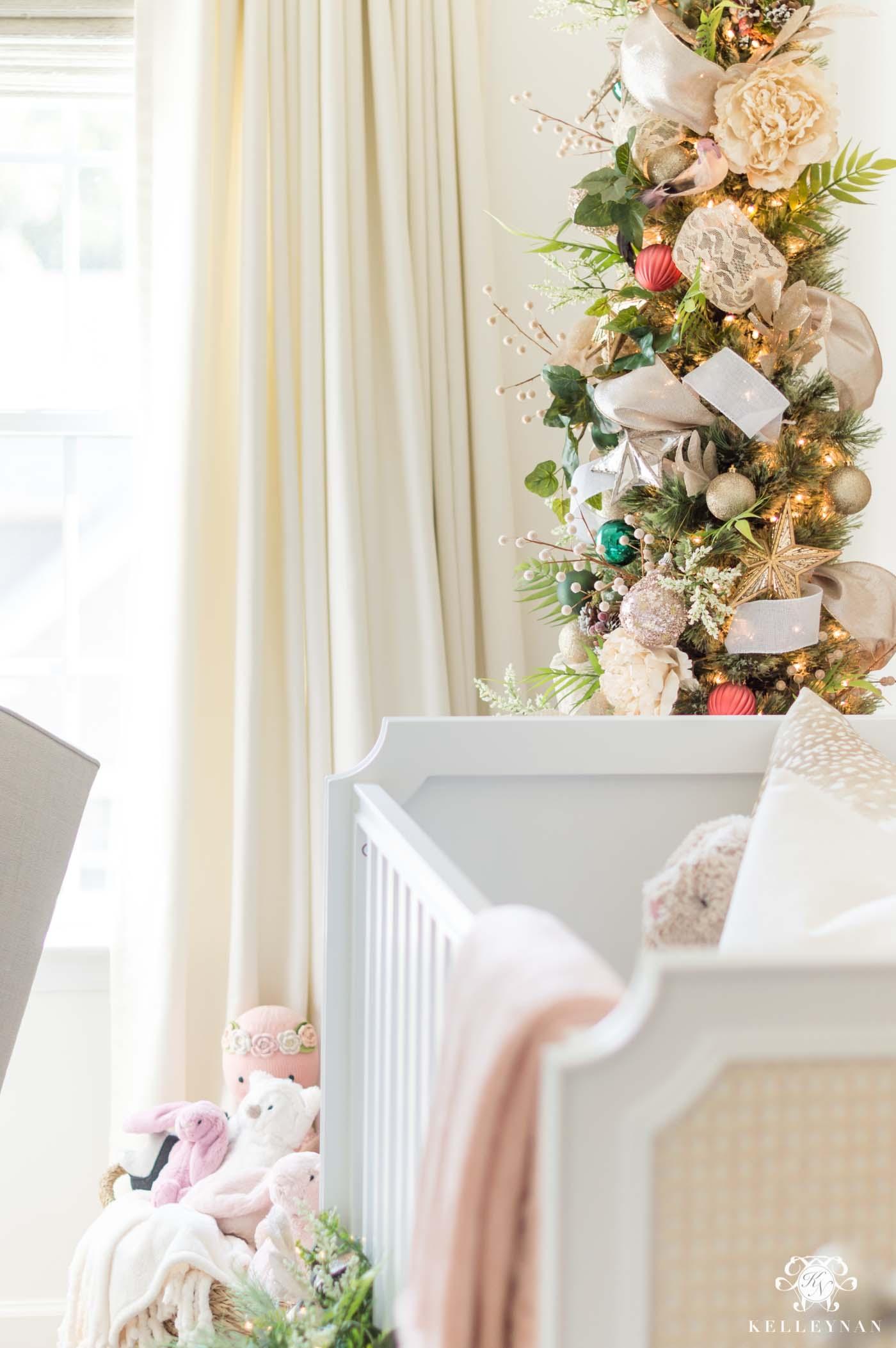 Baby GIrl Nursery Christmas Decor