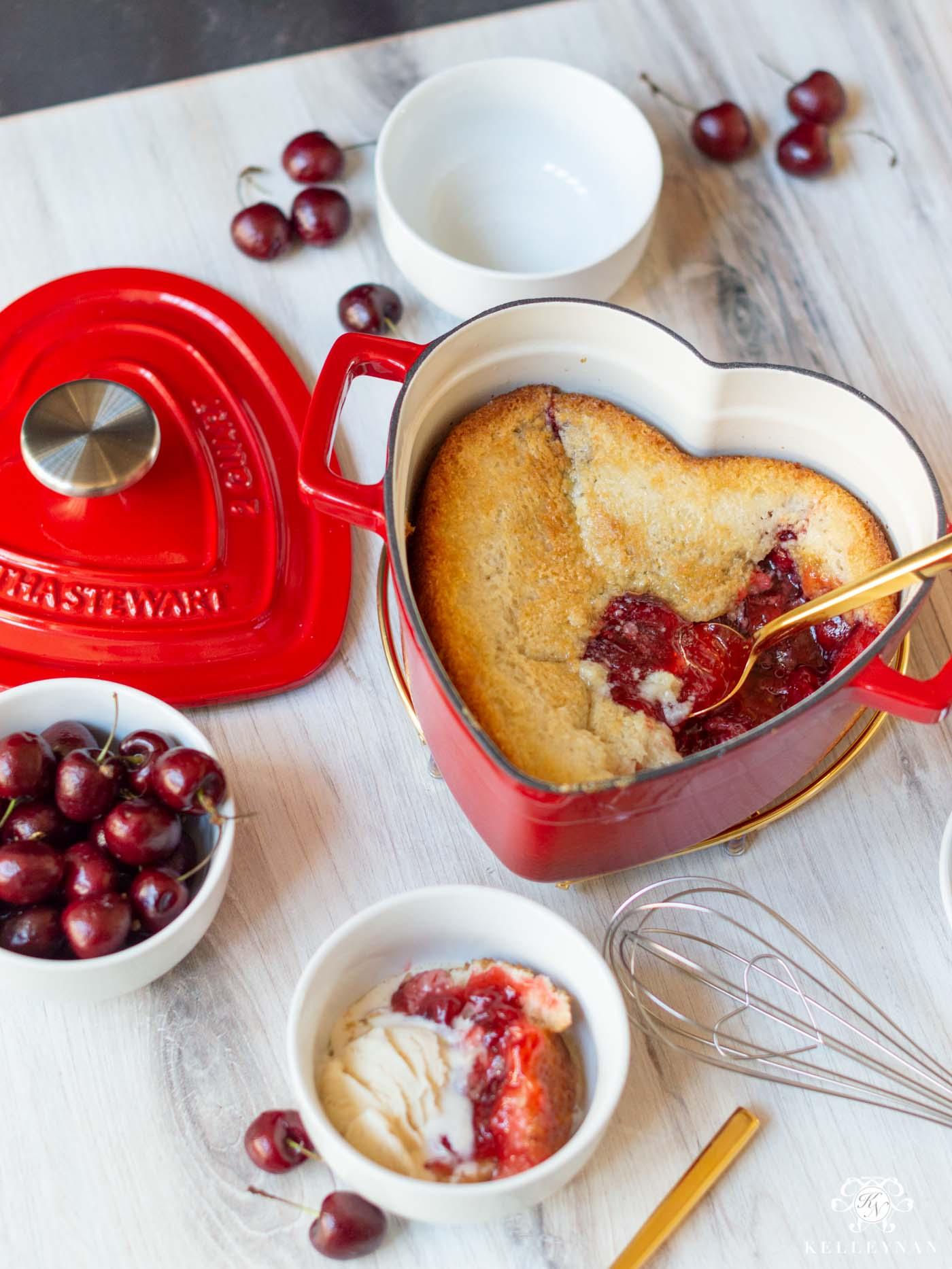 Favorite, EASY Cherry Cobbler Recipe