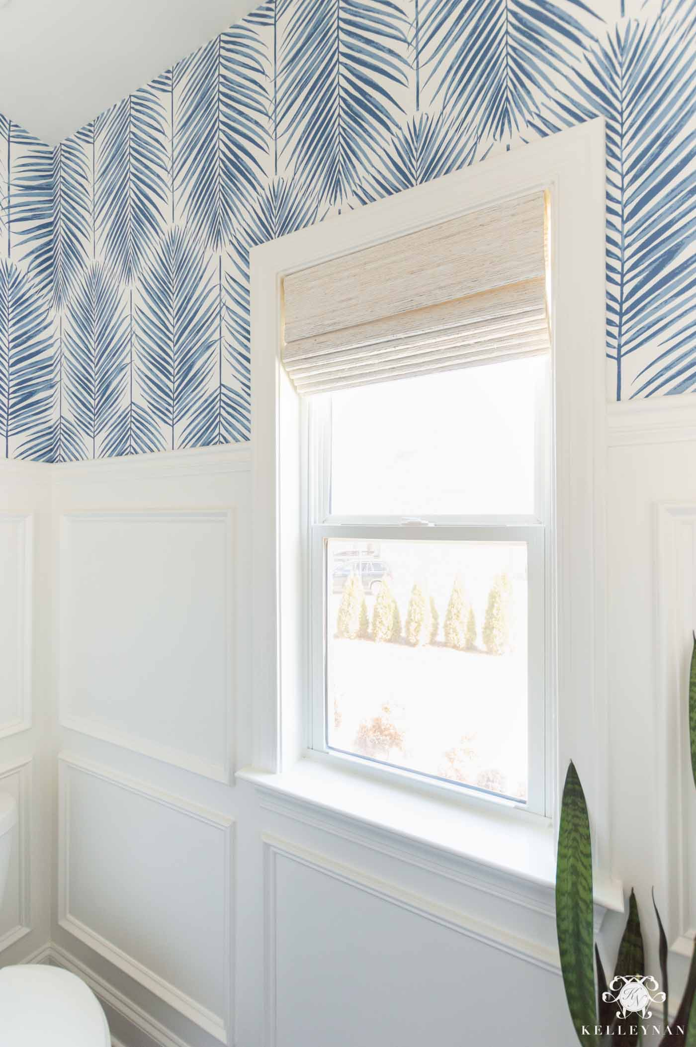 Bathroom Window Shades and Treatments