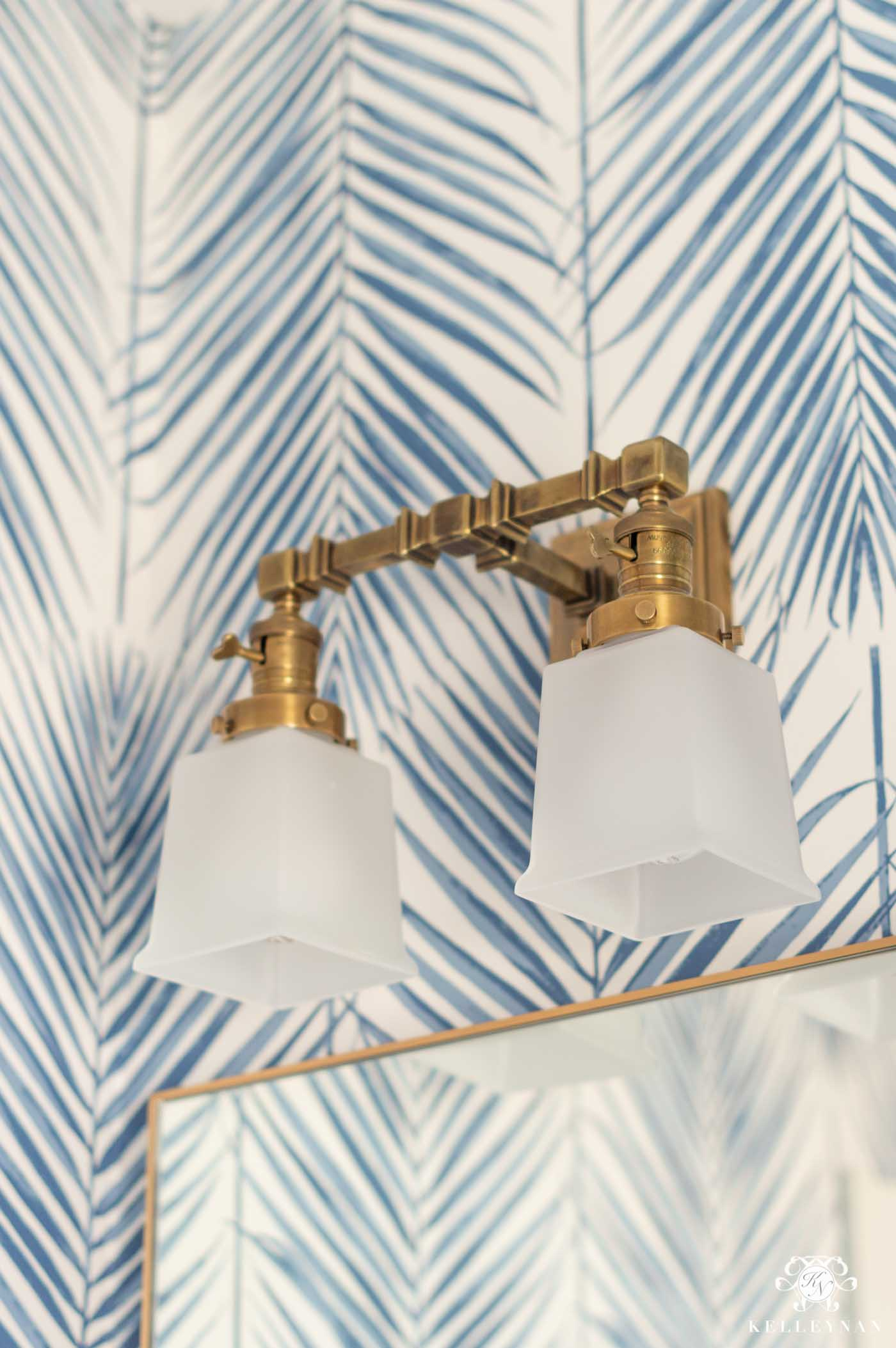 Visual Comfort Bathroom Sconce Lighting for the Powder Room