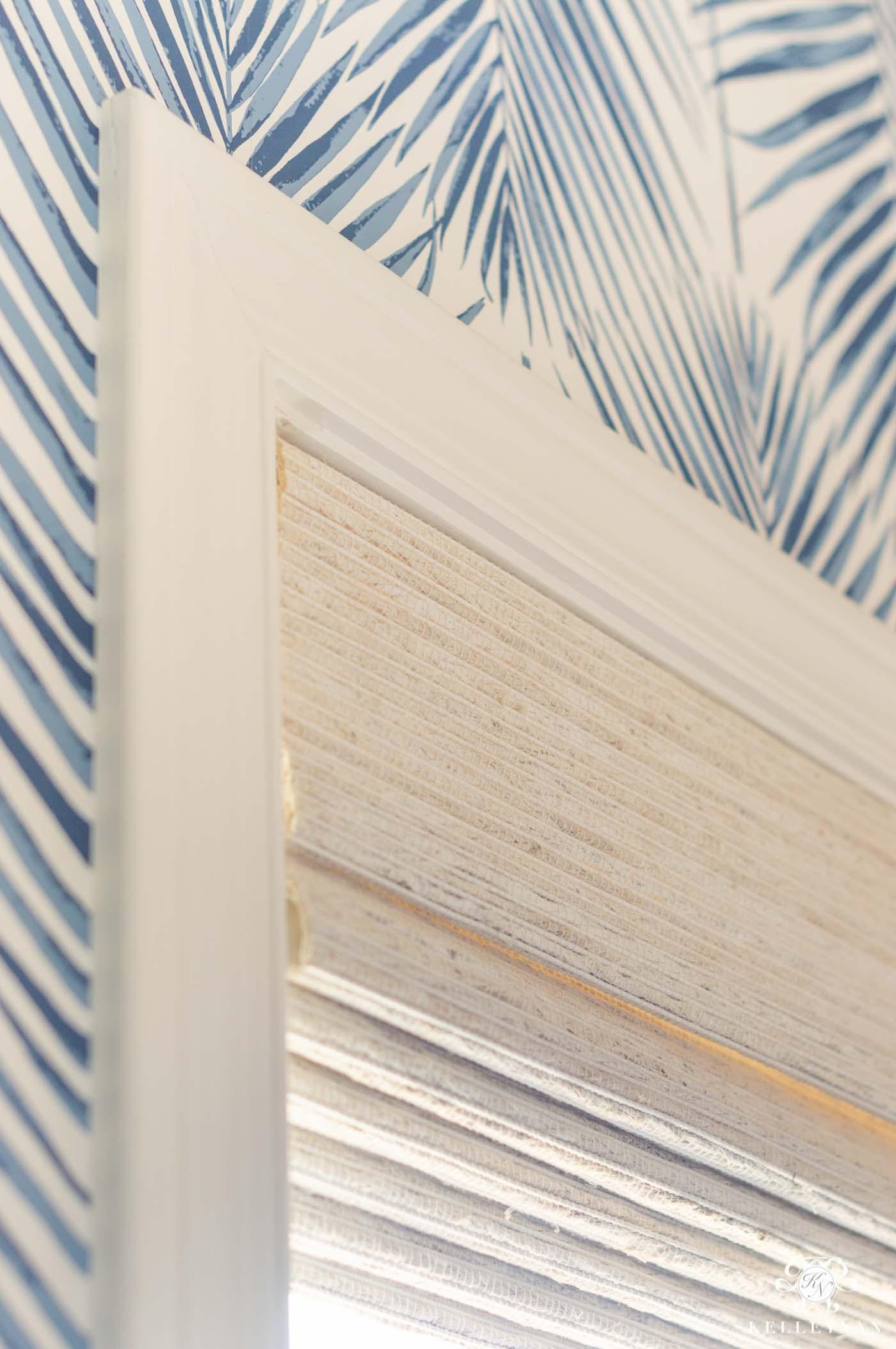 Powder Room Shades and Window Treatment Ideas