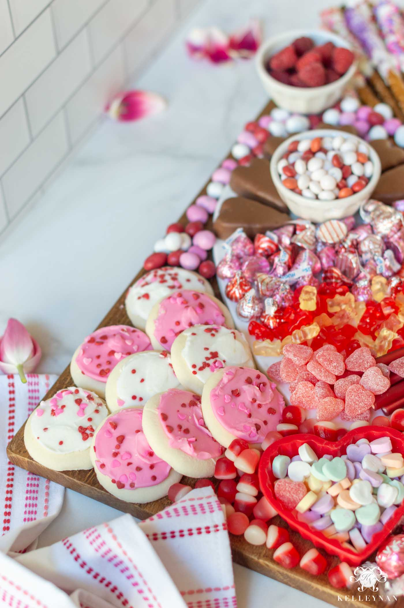 Valentine's Day Sweets & Candy Board