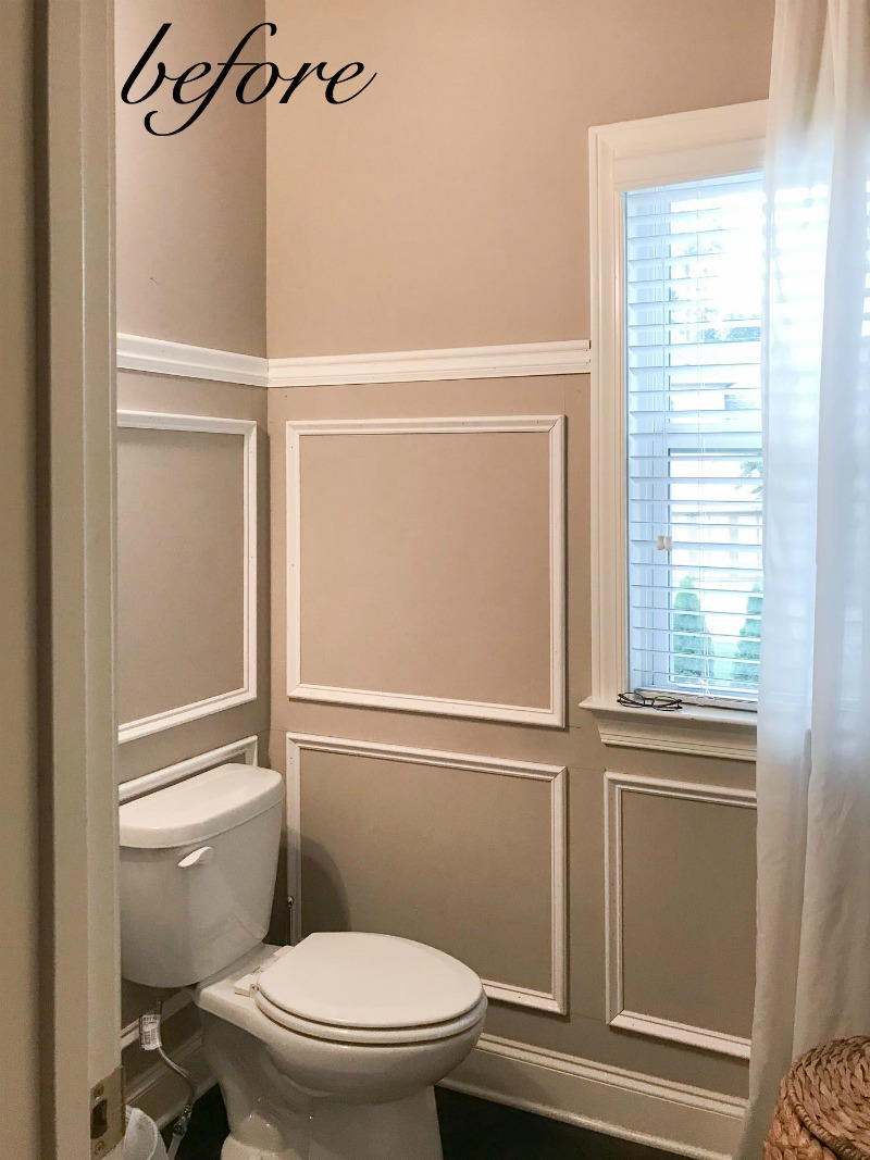 Powder Bath Makeover Before