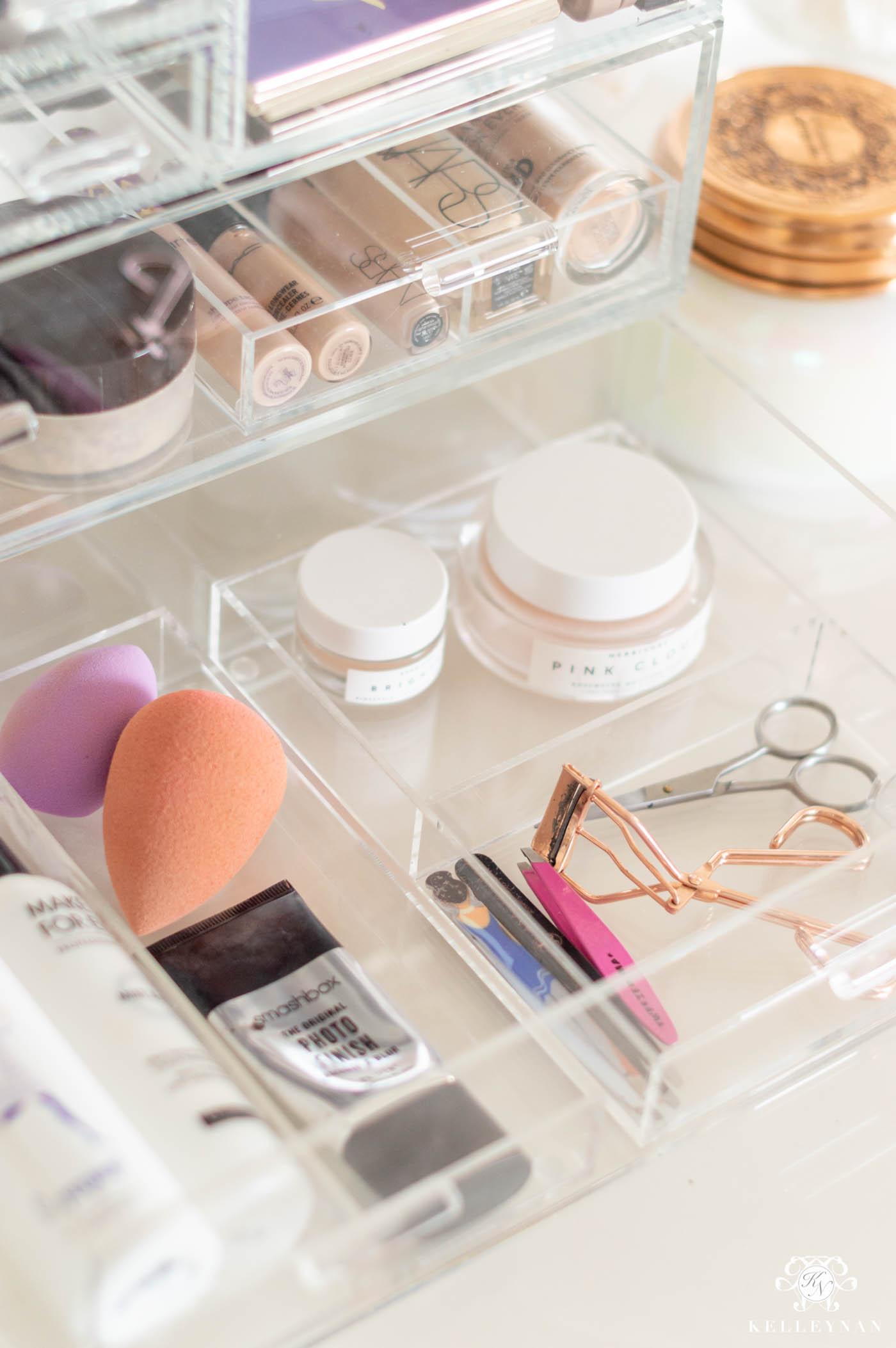 Acrylic Makeup Organizer Inserts