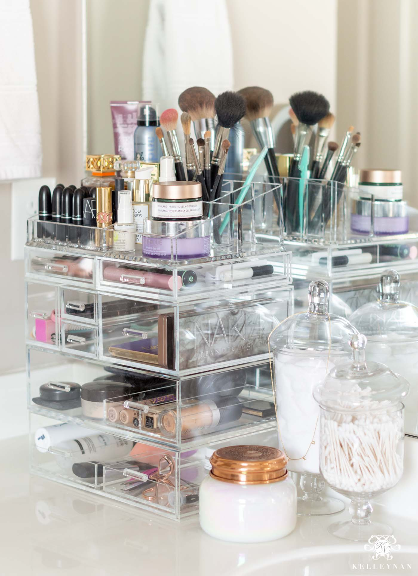 Acrylic Makeup Organizer that Fits it All