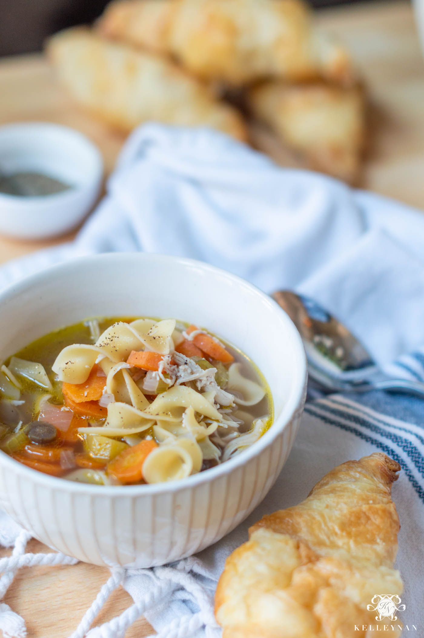 Classic Chicken Noodle Soup that's EASY!