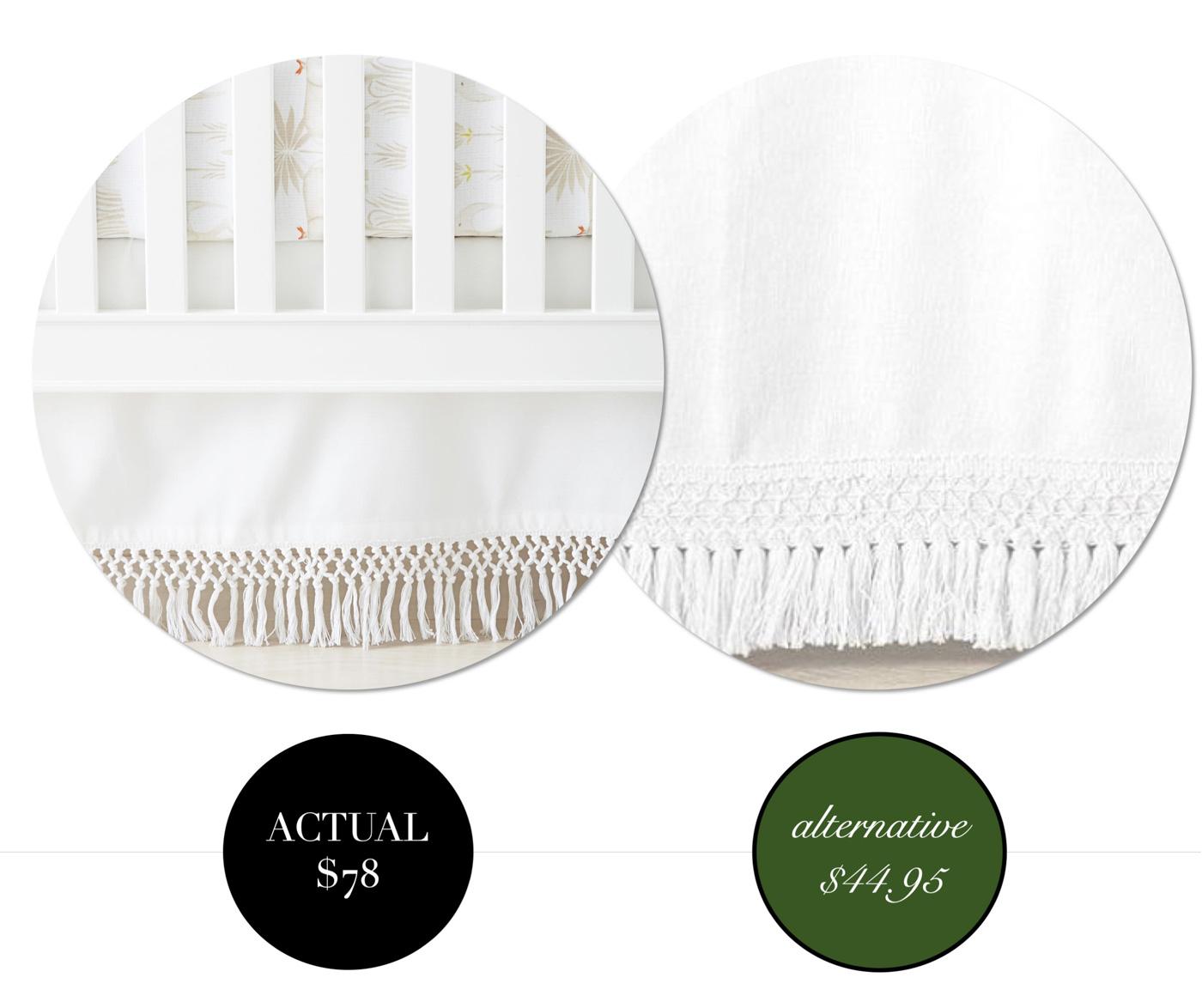 Designer Dupes & Affordable Nursery Decor Options