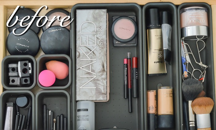 Makeup Organization Solution- Before & After
