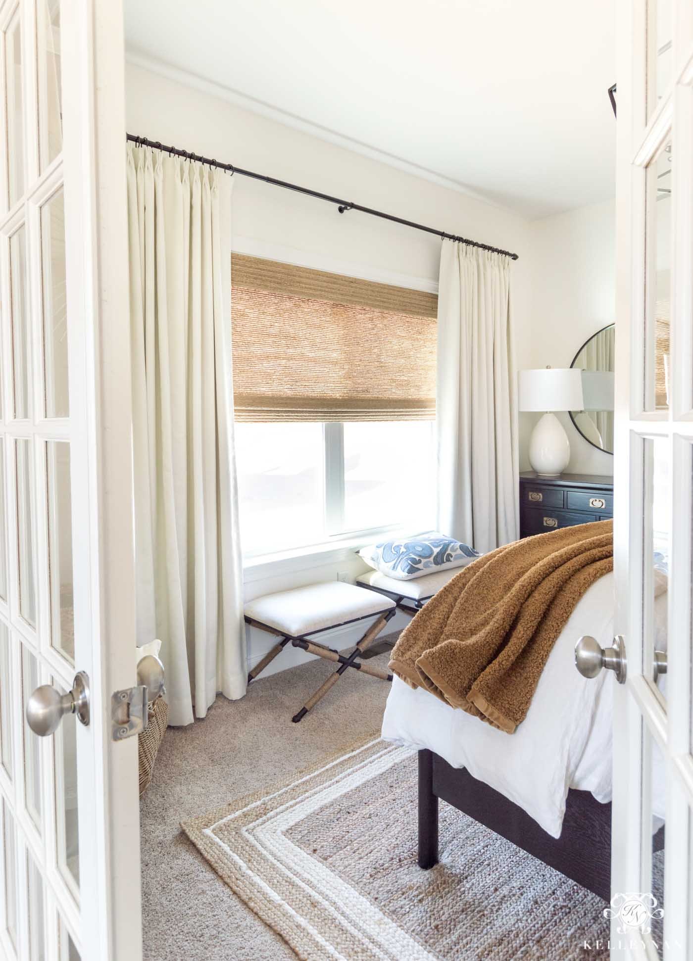 Small Guest Bedroom Design and Decor