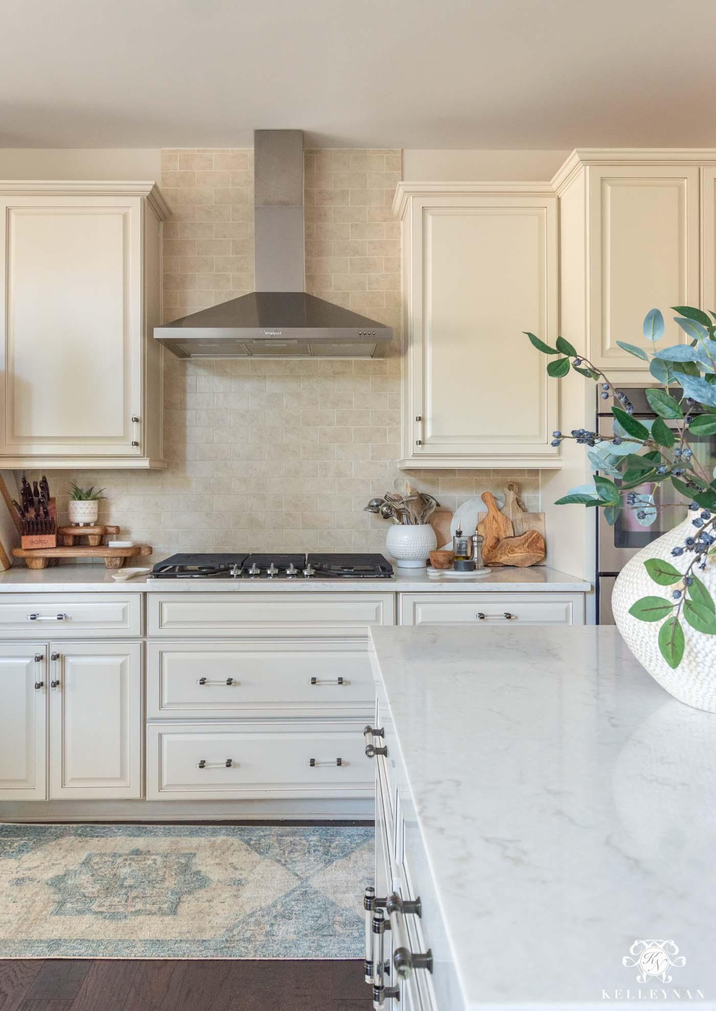 Cream Kitchen Design