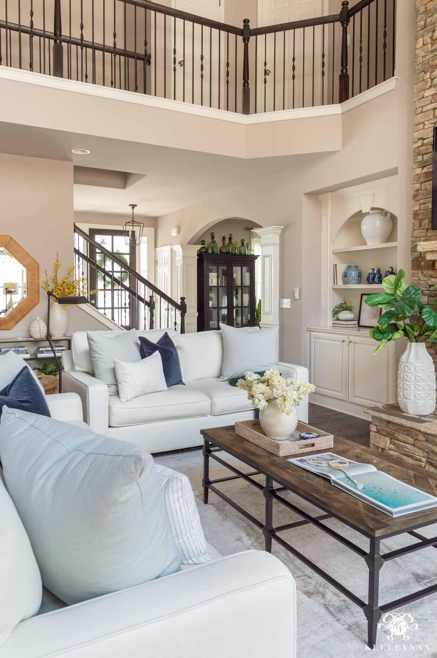 Spring Living Room Decorating