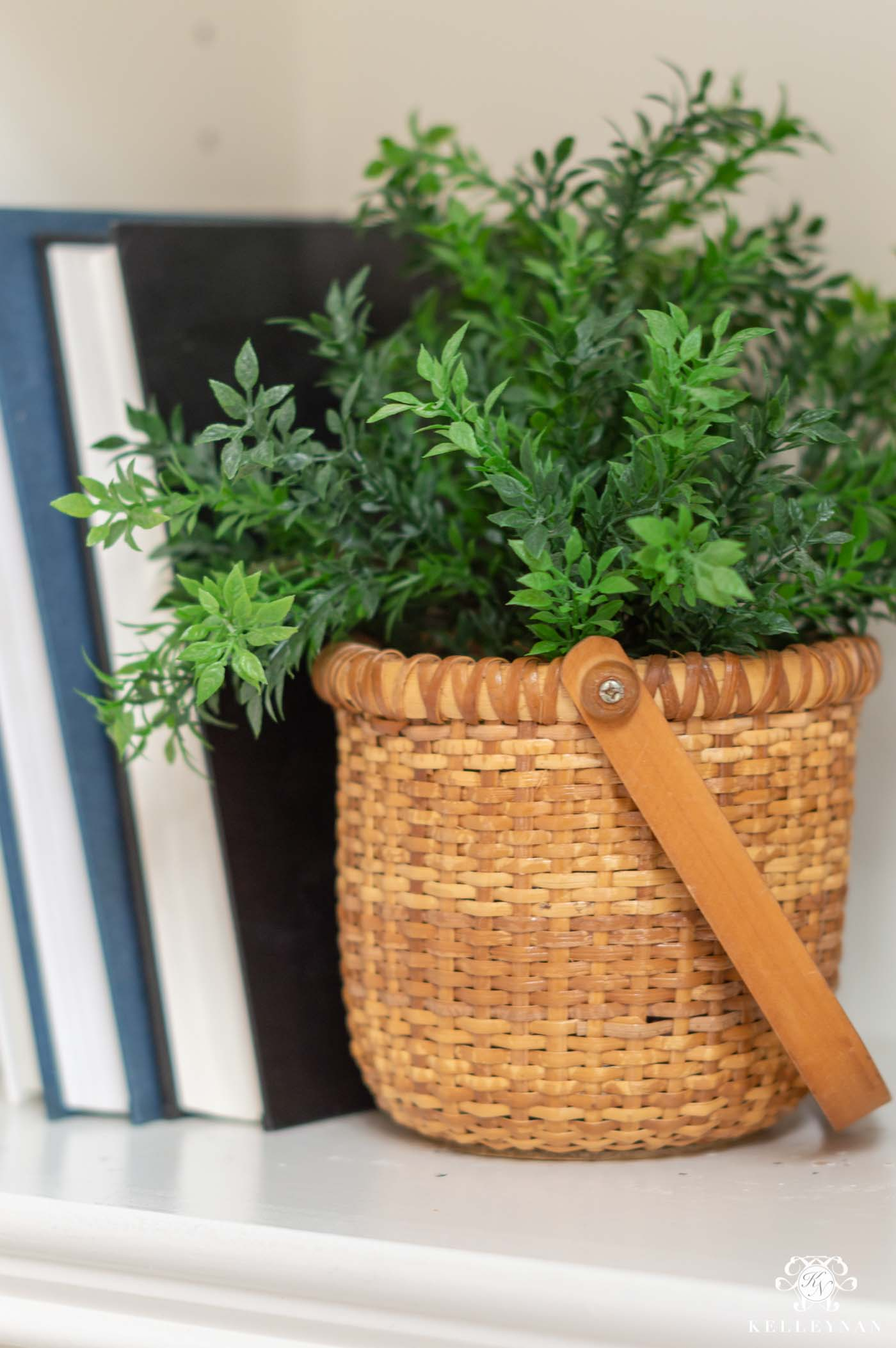 Mixing Fake and Live Plants in Spring and Summer Decor