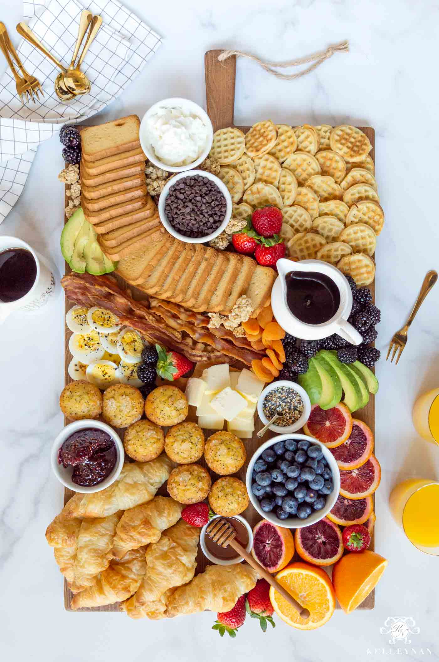Perfect for Brunch! How to Create a Breakfast Board for Morning Gatherings