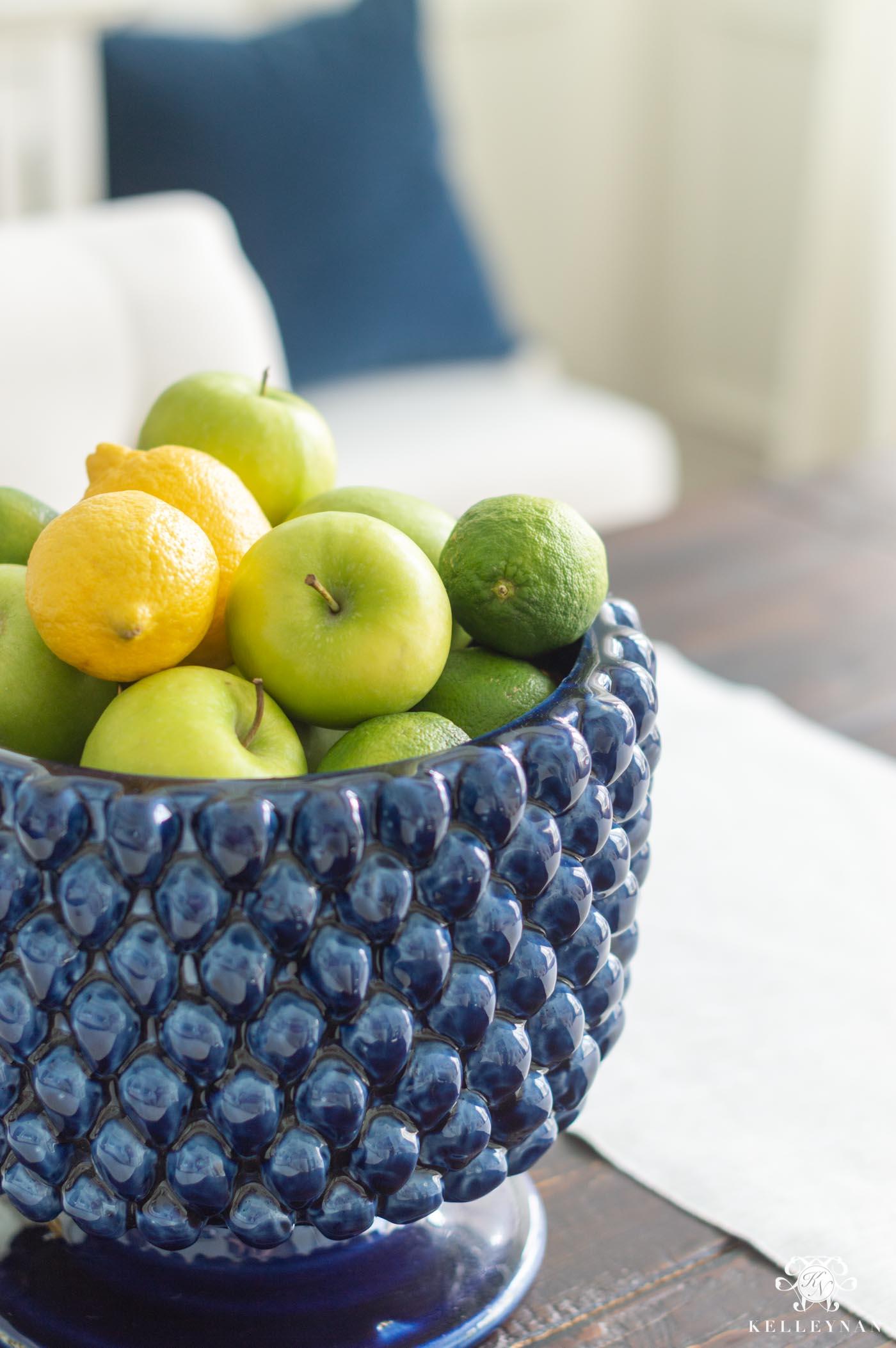 Easy Citrus Centerpiece Arrangement