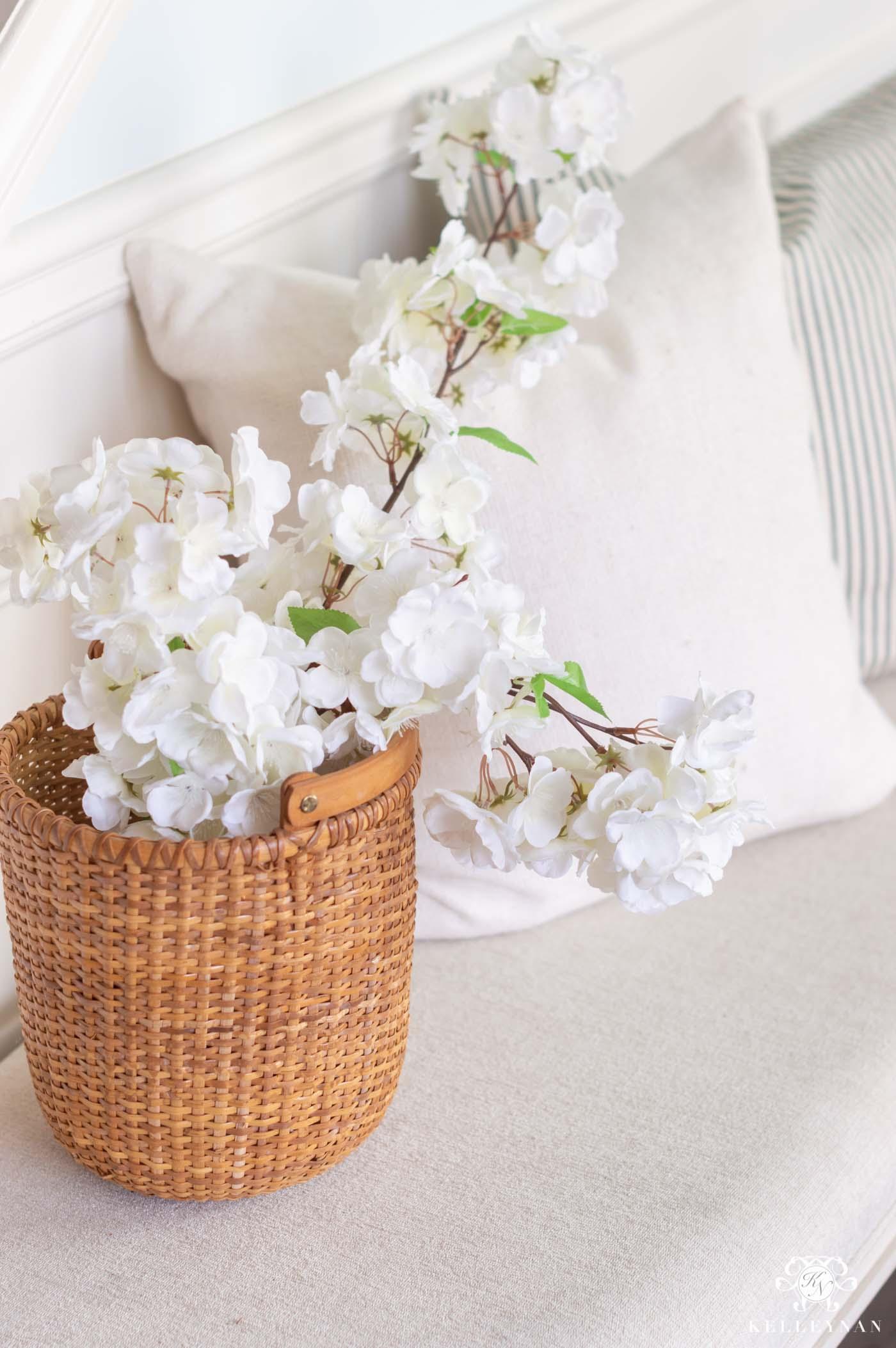 Easy Fake Flower Arrangements