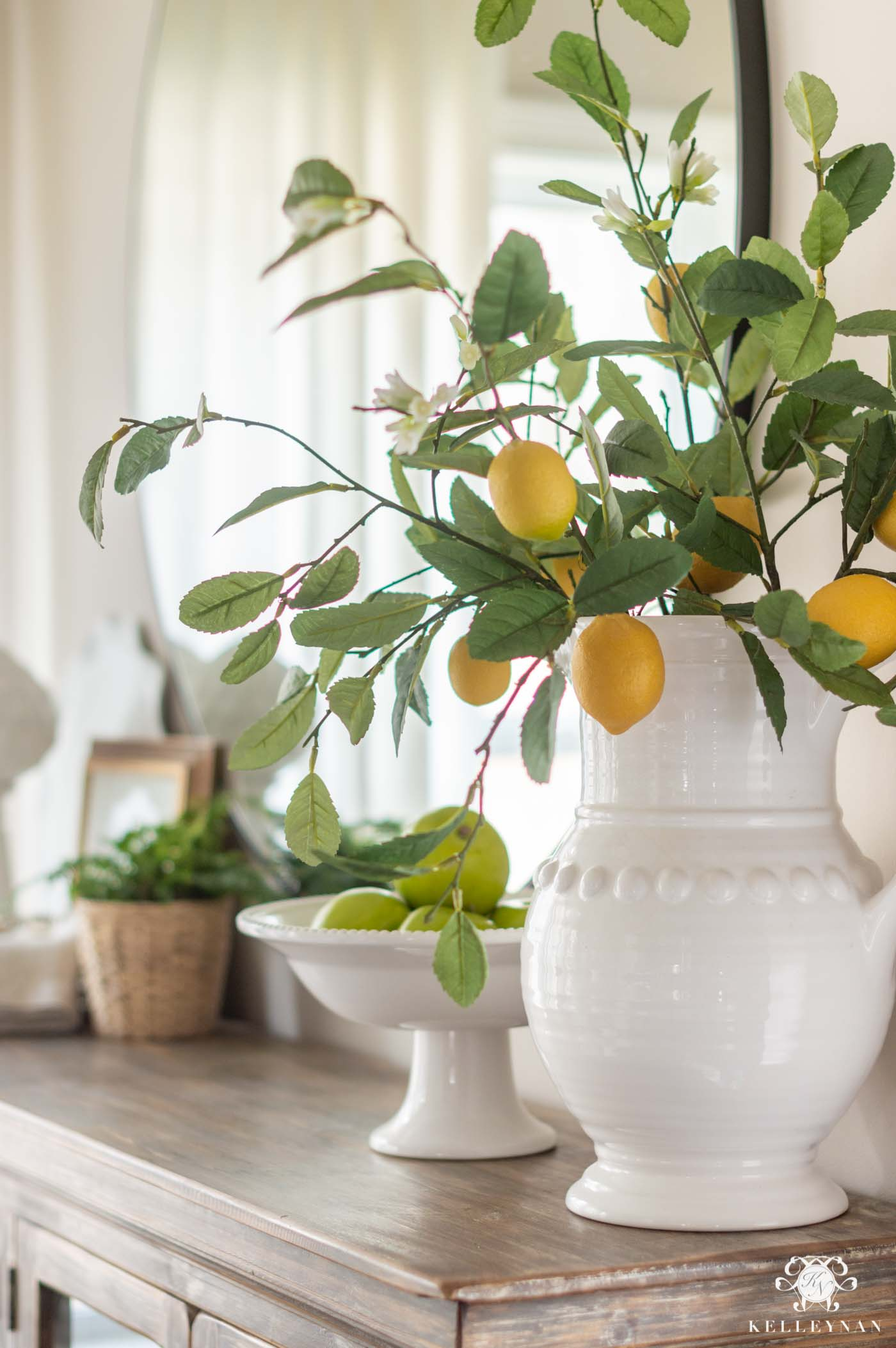 Favorite Faux Fruit, Flower and Plants for Spring