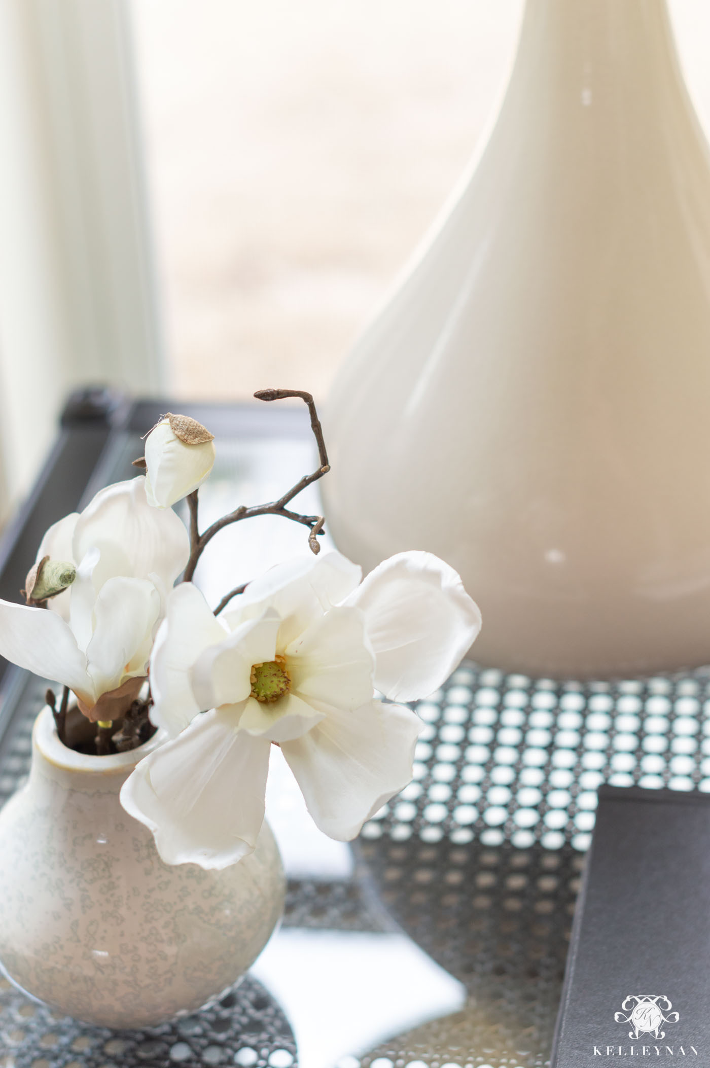 Favorite Faux Flowers and Simple Arrangements