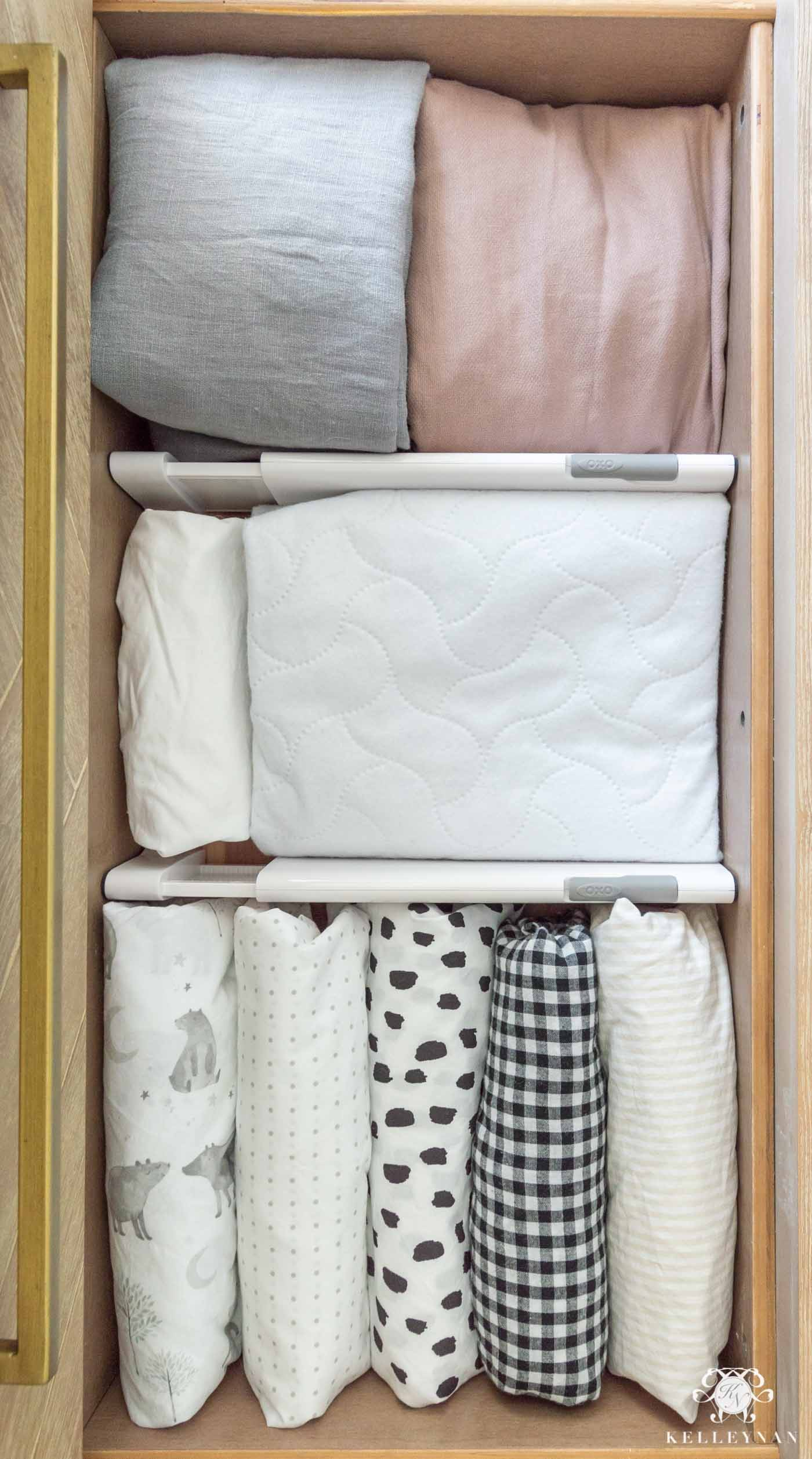 Nursery Dresser Organization: How to Organize Your Baby's Clothes & Essentials