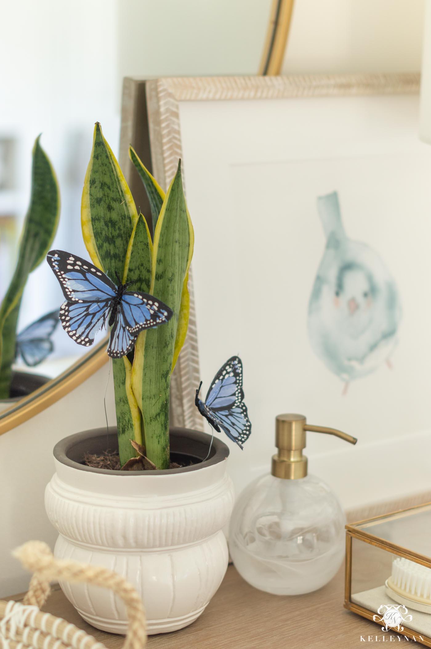 Baby Girl Nursery Butterfly Decor