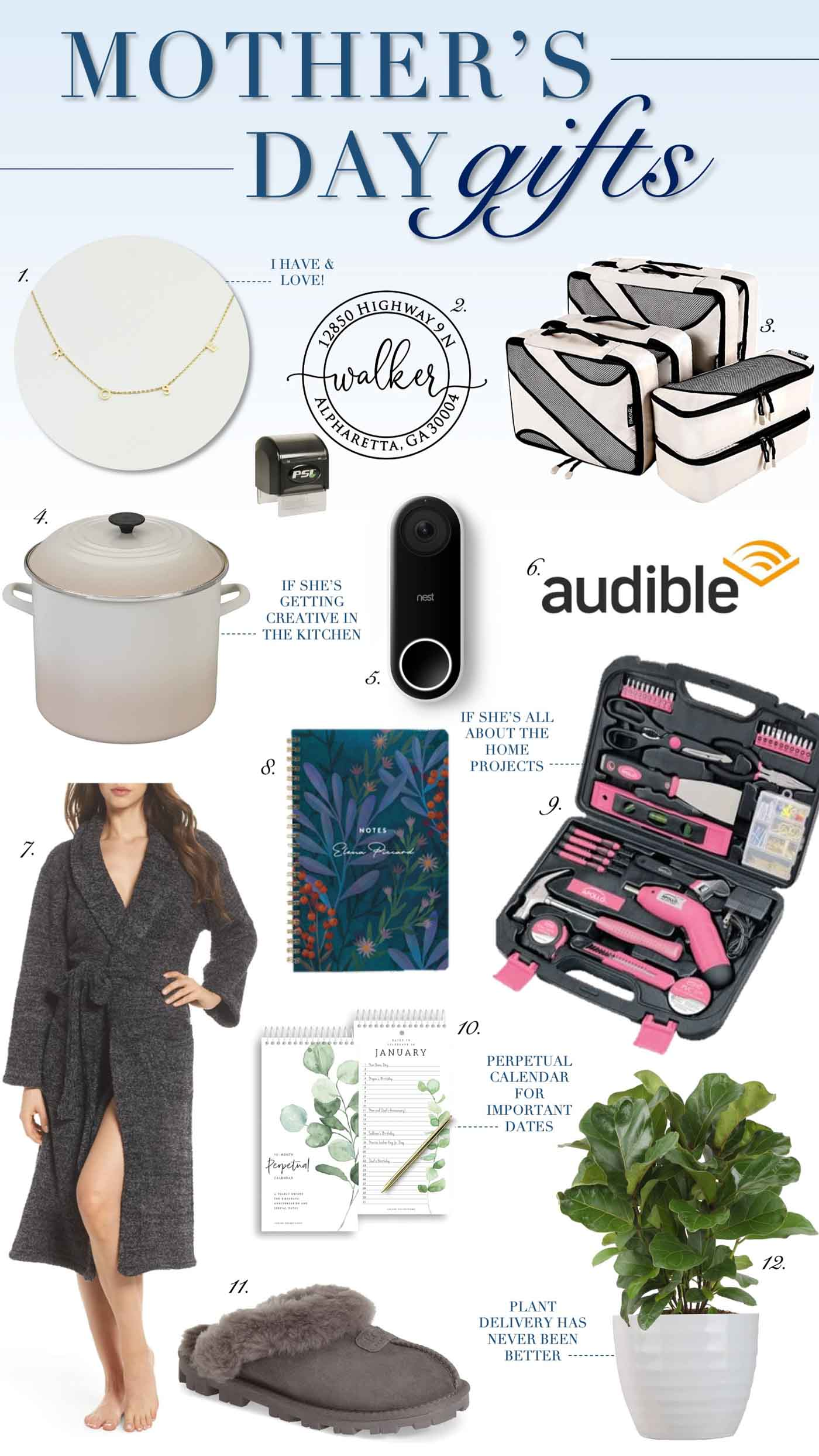 Mother's Day Gift Ideas for At Home