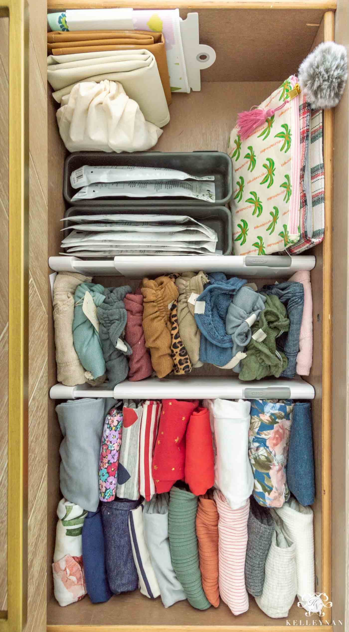 How to Organize the Contents of Your Baby's Dresser